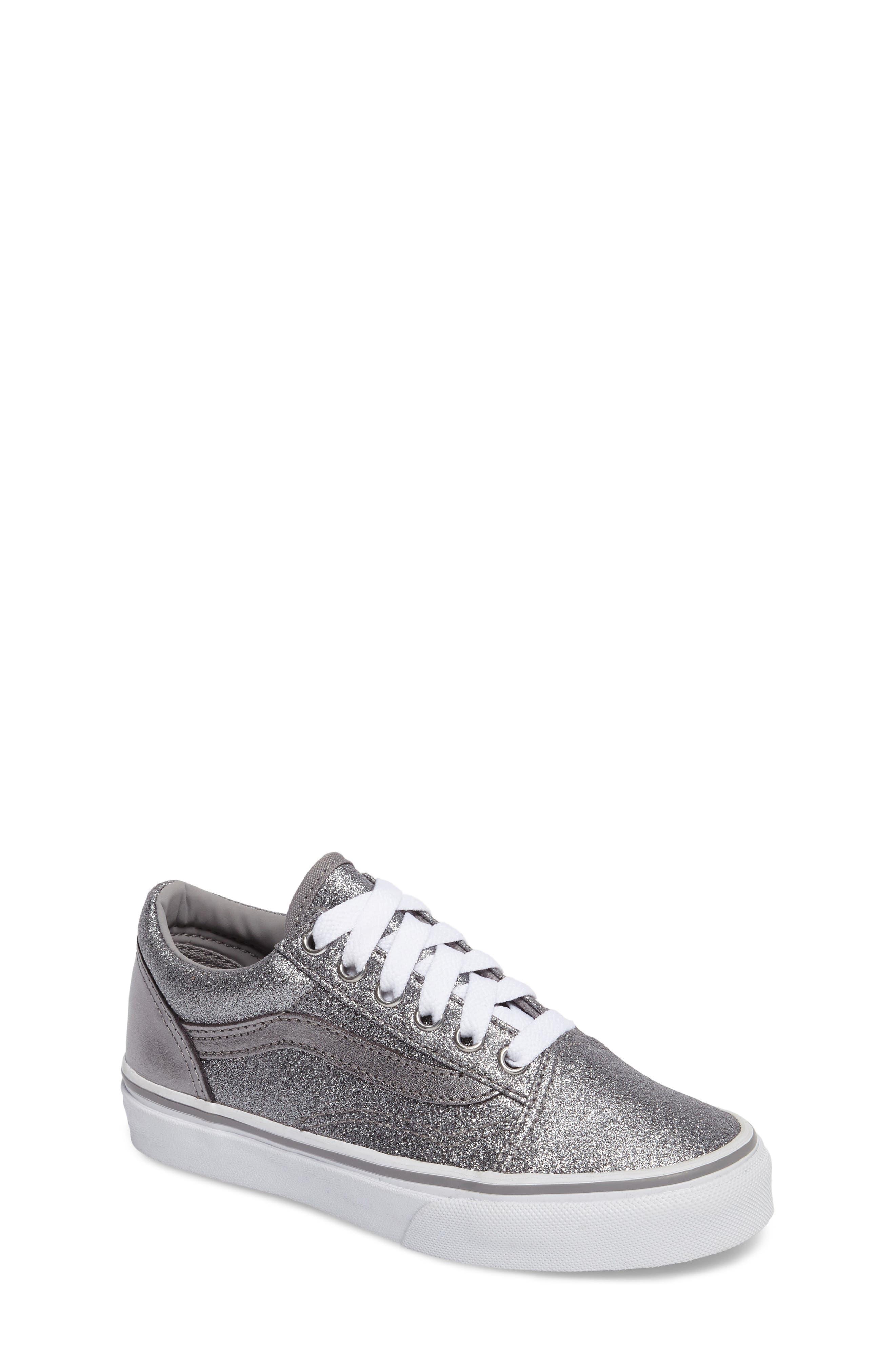Old Skool Glitter Sneaker,                             Main thumbnail 1, color,                             040