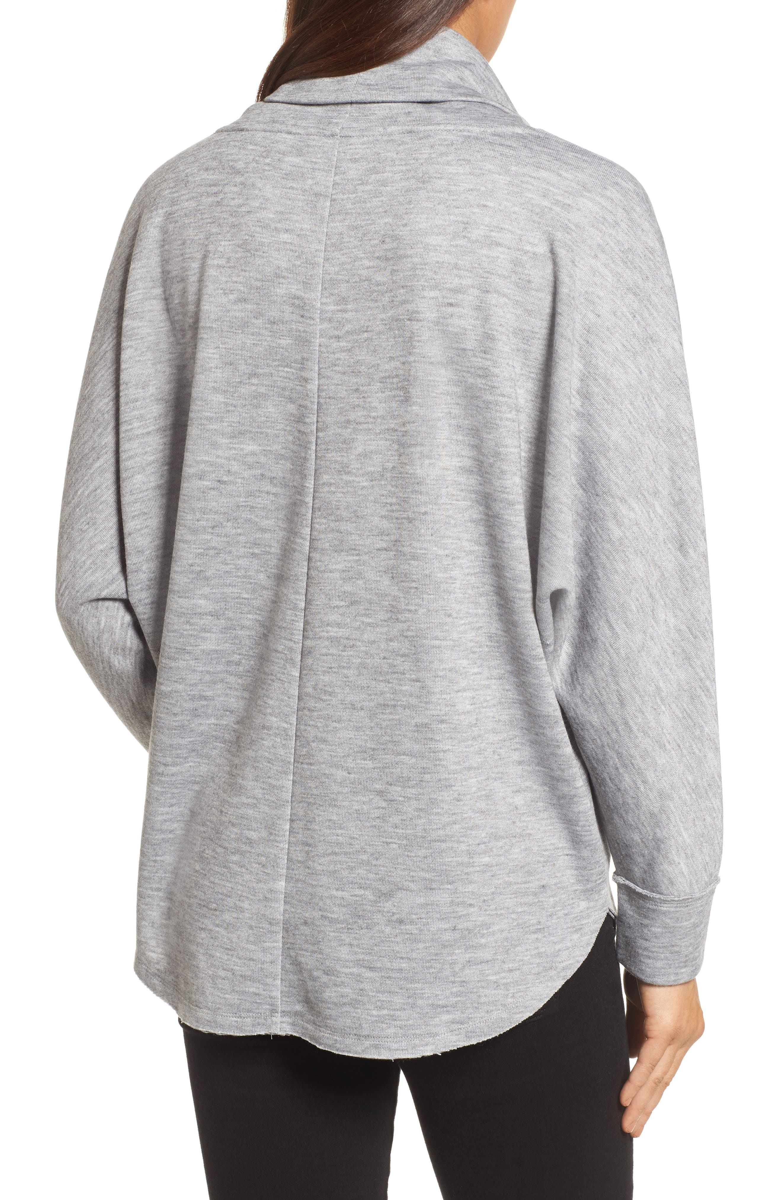Cowl Neck Pullover,                             Alternate thumbnail 6, color,