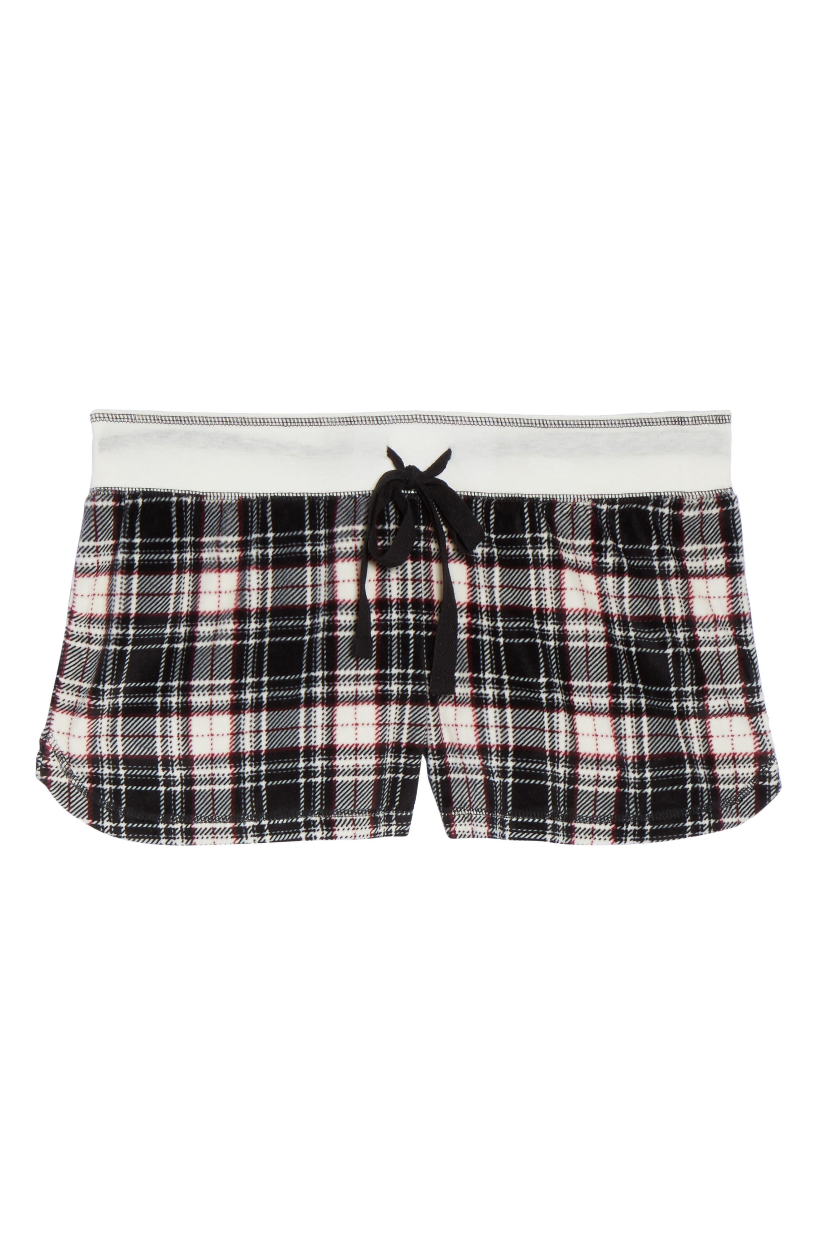 Velour Shorts,                             Alternate thumbnail 6, color,                             001