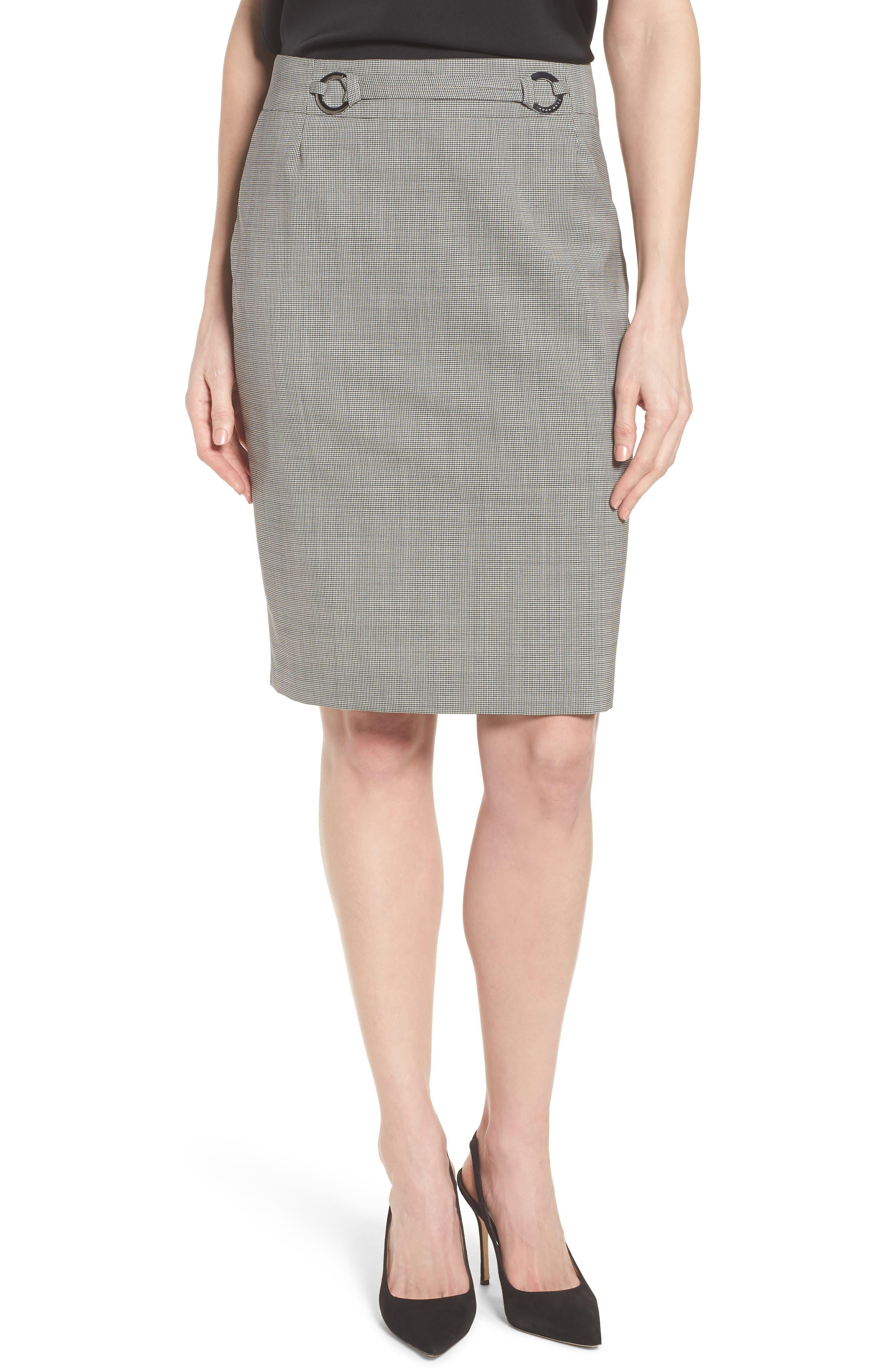 Vavilla Stretch Wool Suit Skirt,                             Main thumbnail 1, color,