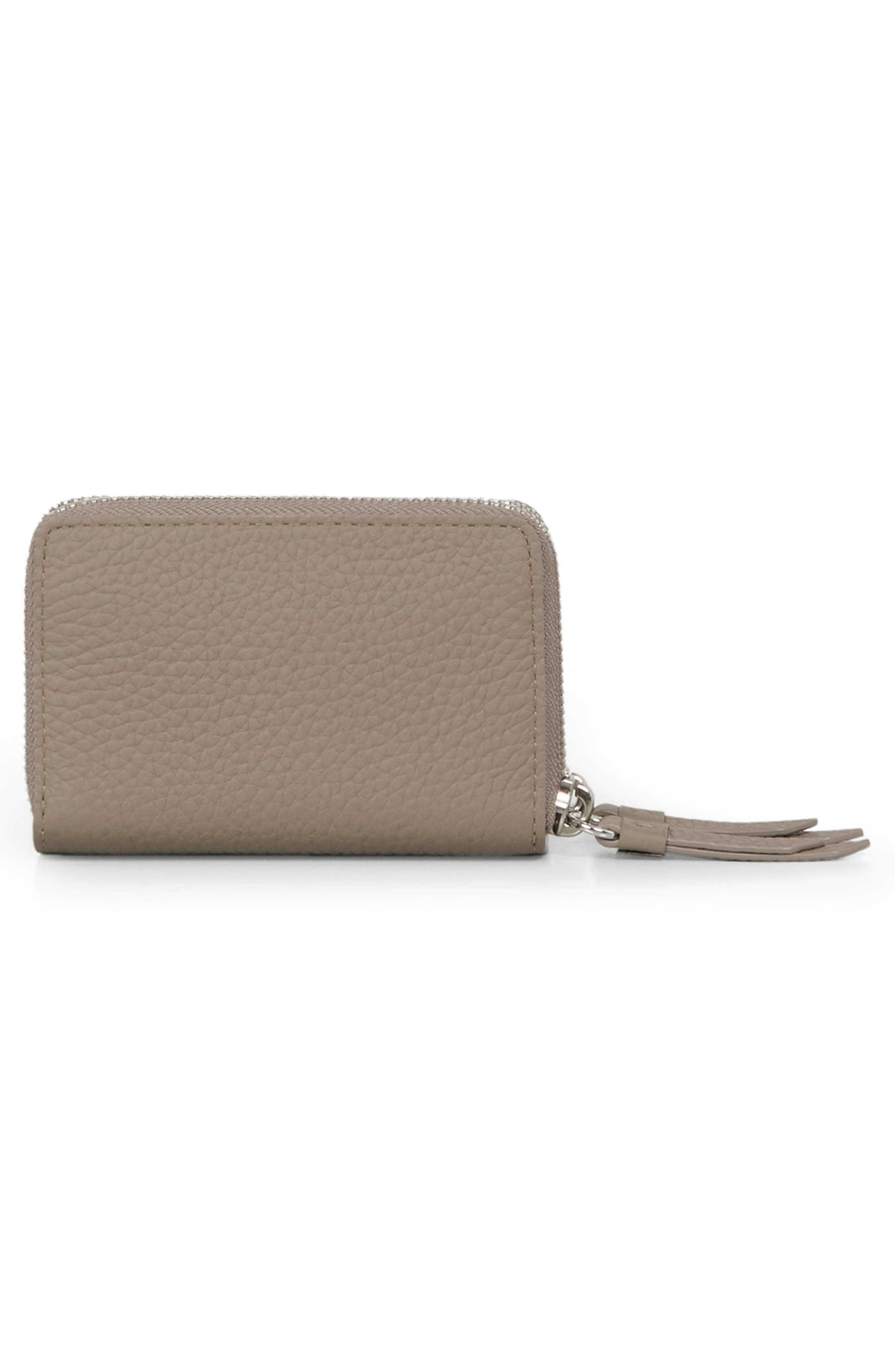 Fetch Leather Card Holder,                             Alternate thumbnail 8, color,