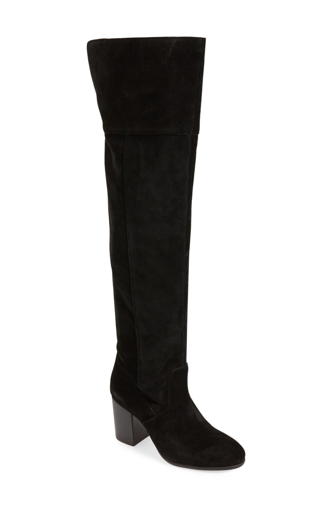JessicaSimpson'Ebyy' Over the KneeBoot,                             Main thumbnail 1, color,                             001
