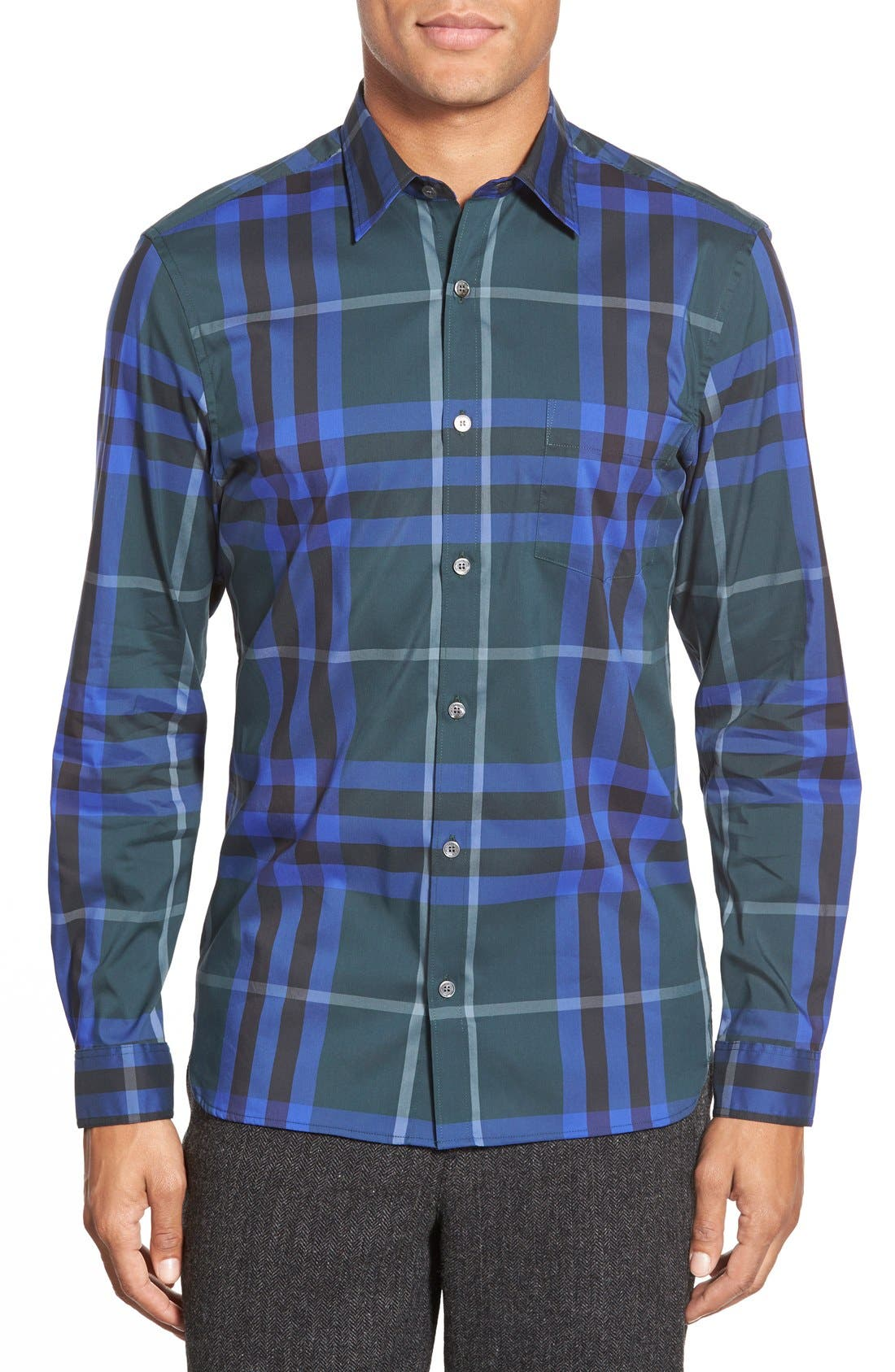 Nelson Check Sport Shirt,                             Main thumbnail 10, color,