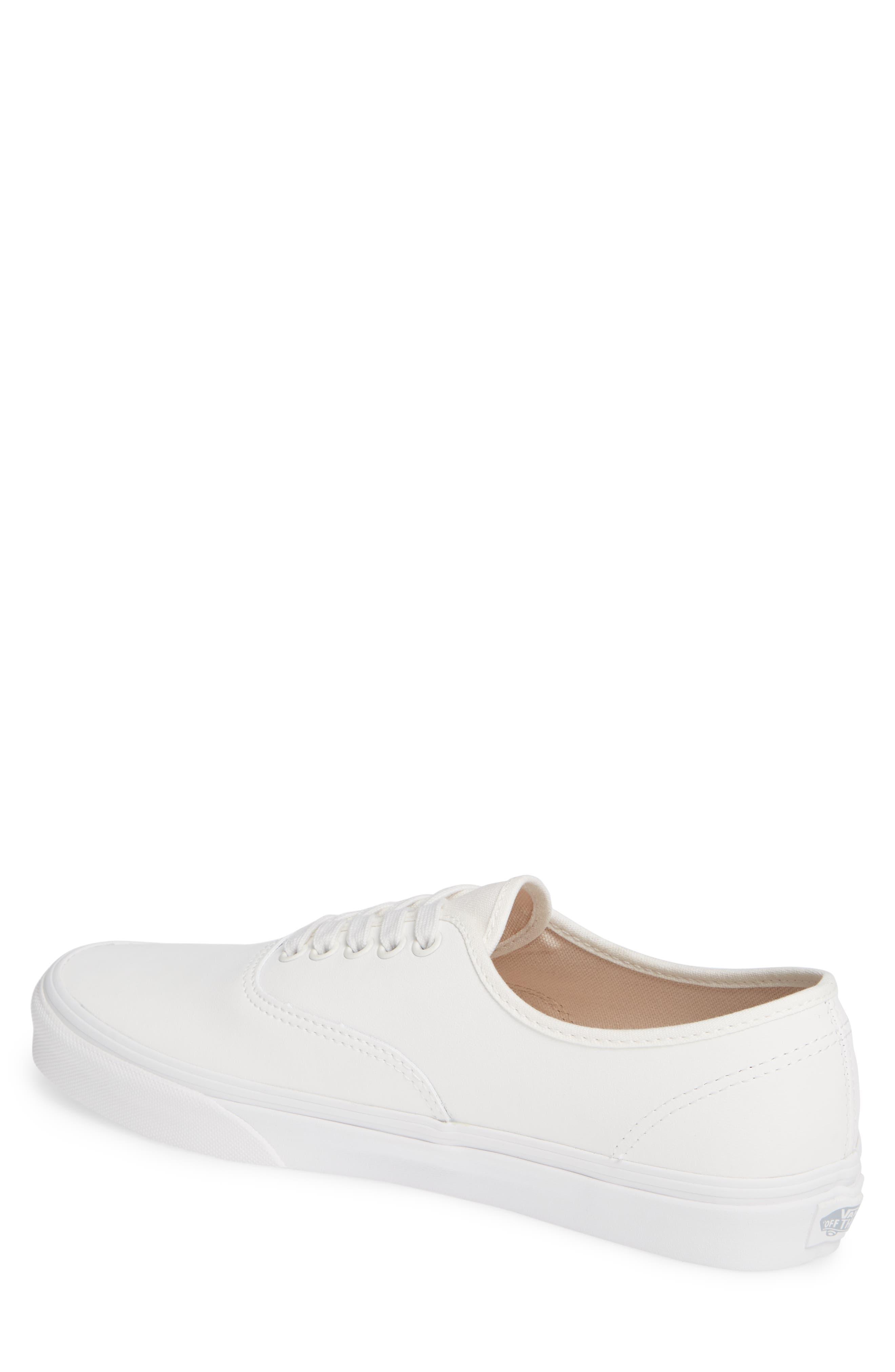 Authentic Buck Sneaker,                             Alternate thumbnail 2, color,                             WHITE
