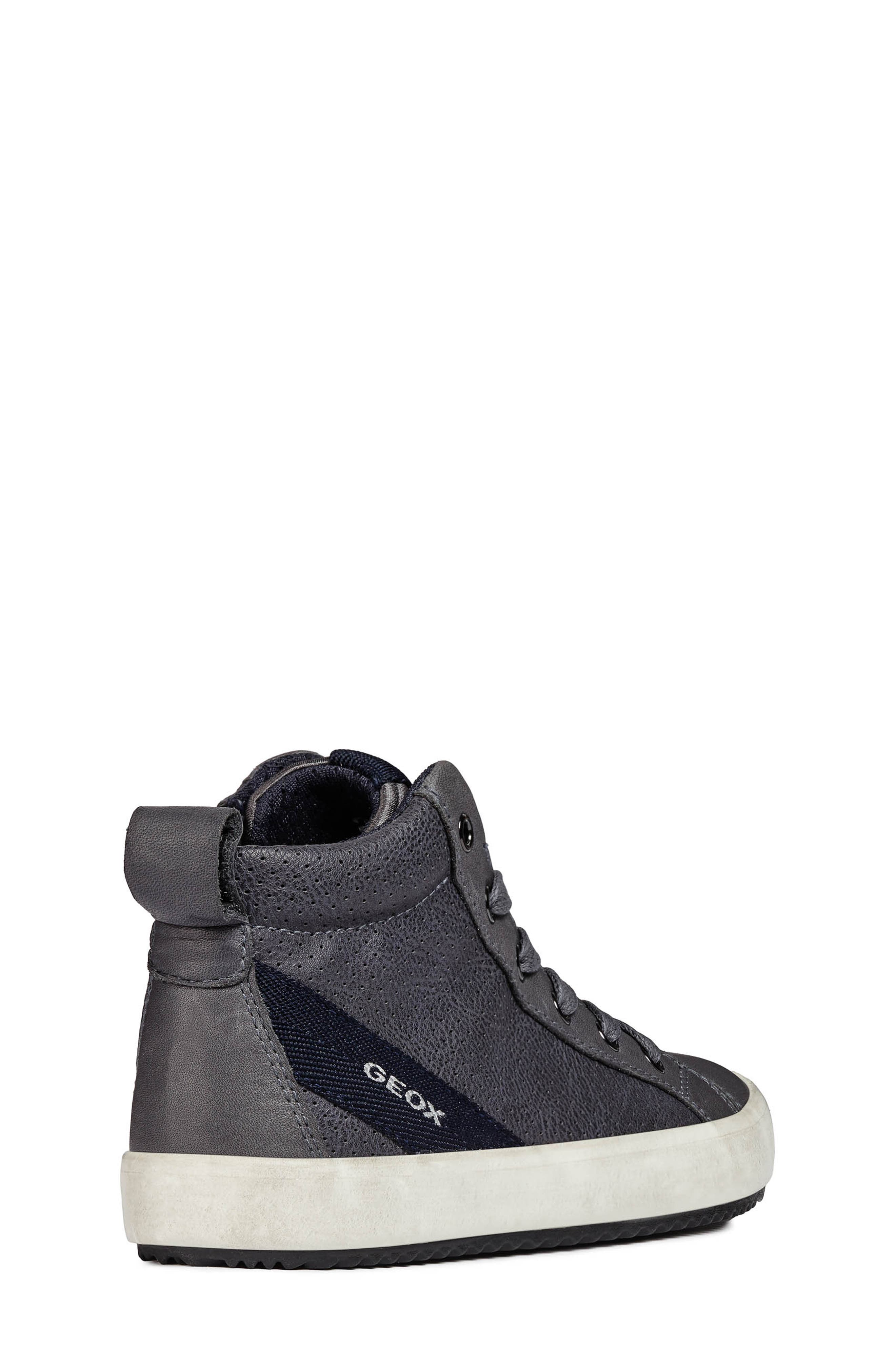 Alonisso High-Top Sneaker,                             Alternate thumbnail 7, color,                             GREY/DARK GREY