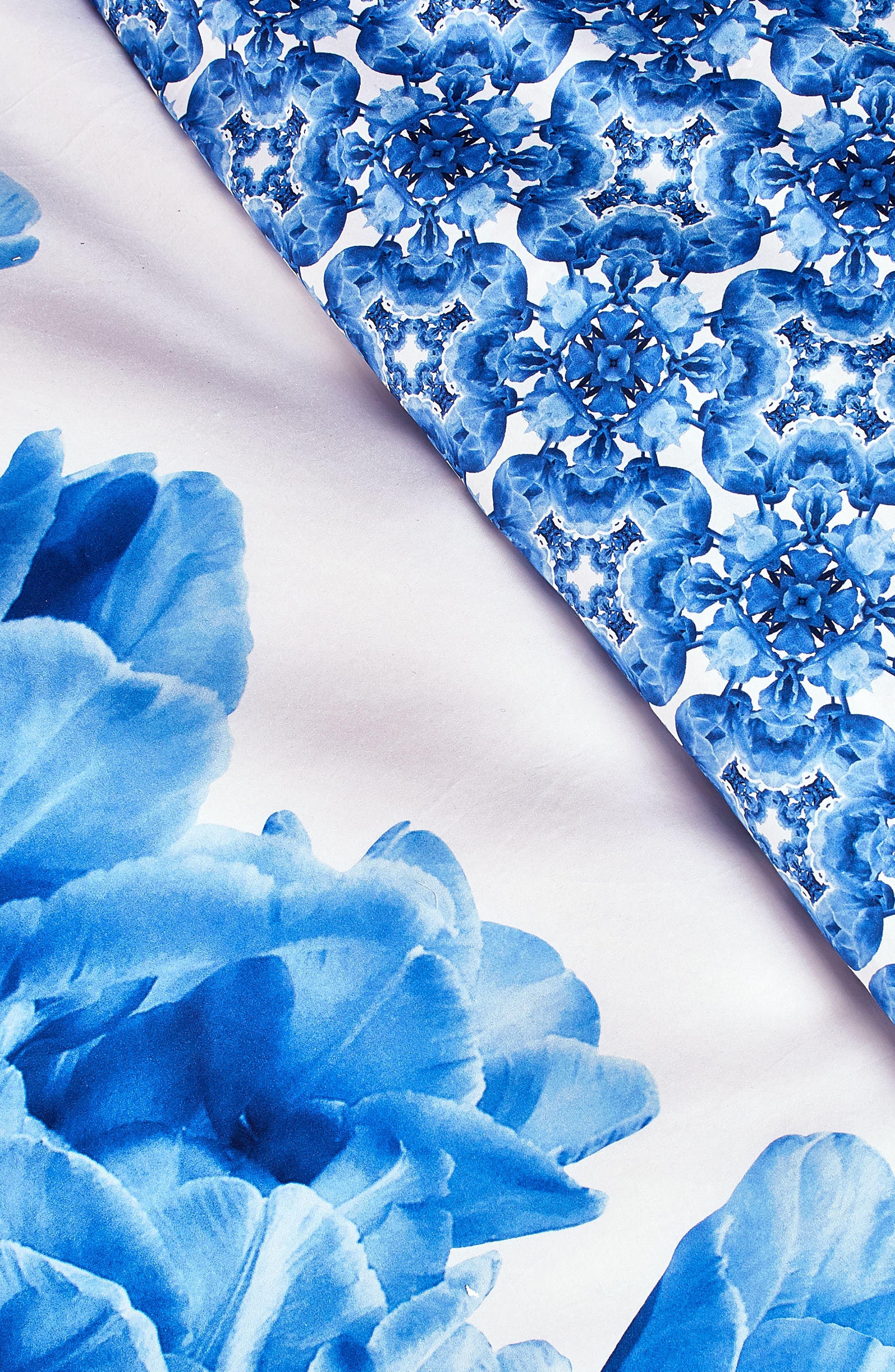 Blue Beauty Comforter & Sham Set,                             Alternate thumbnail 2, color,                             400
