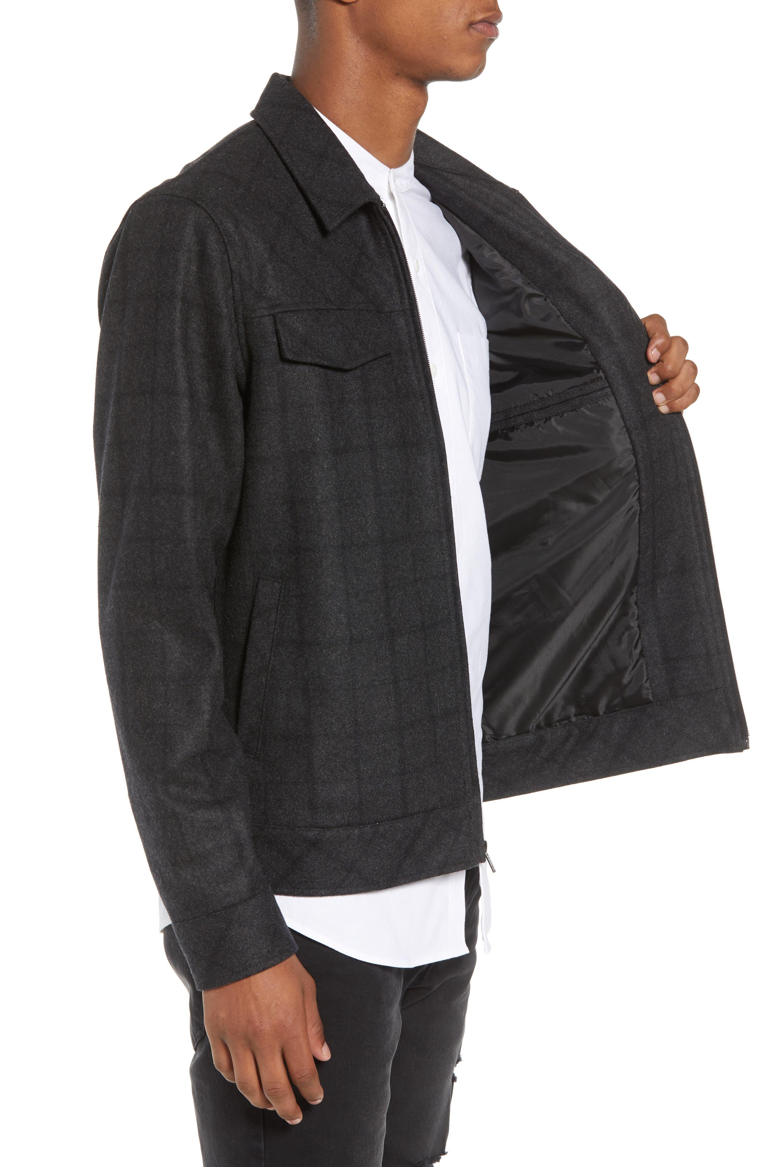 Plaid Jacket,                             Alternate thumbnail 3, color,                             001