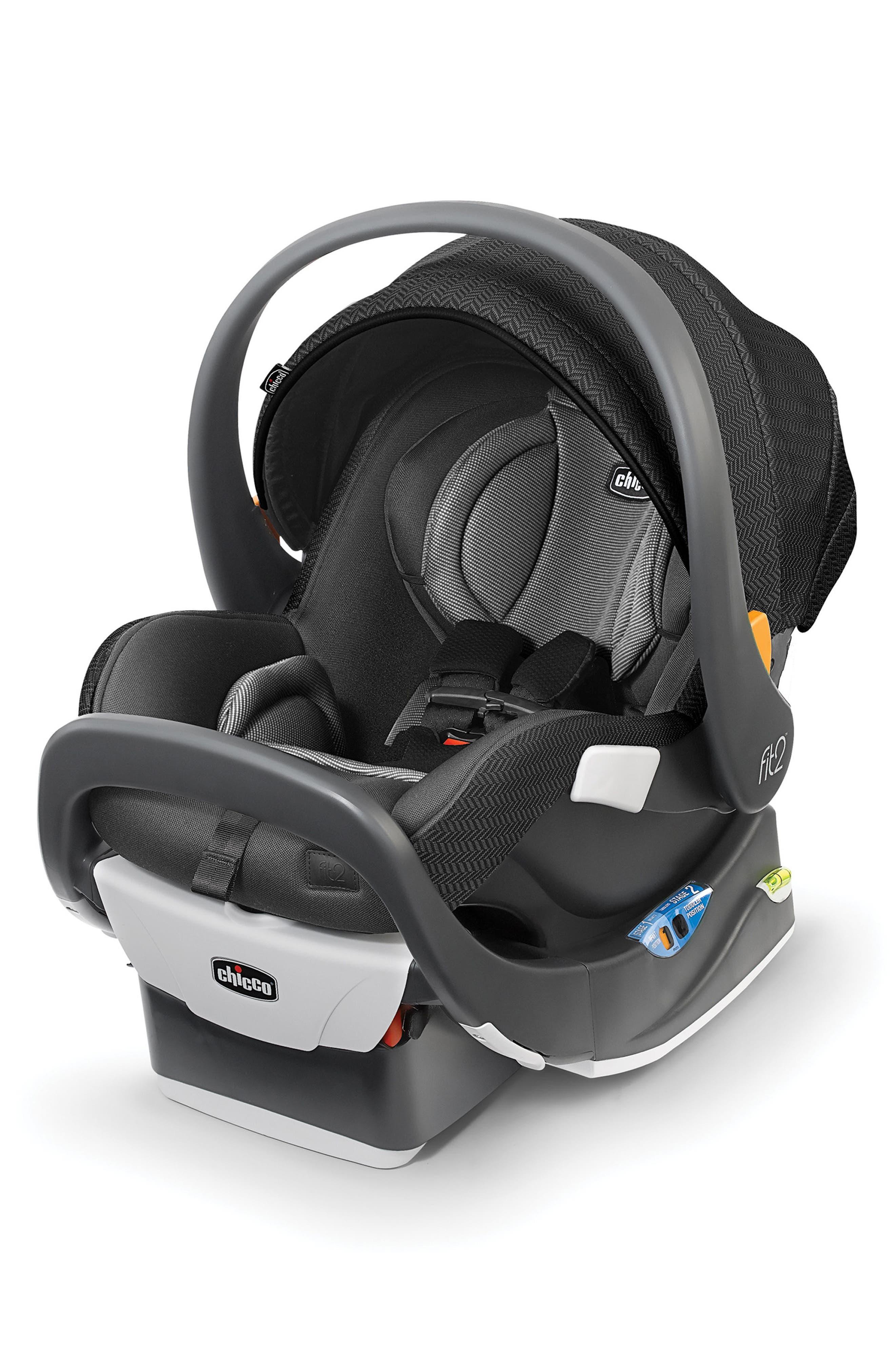 Fit2 2018 Rear-Facing Infant & Toddler Car Seat,                             Main thumbnail 1, color,                             001