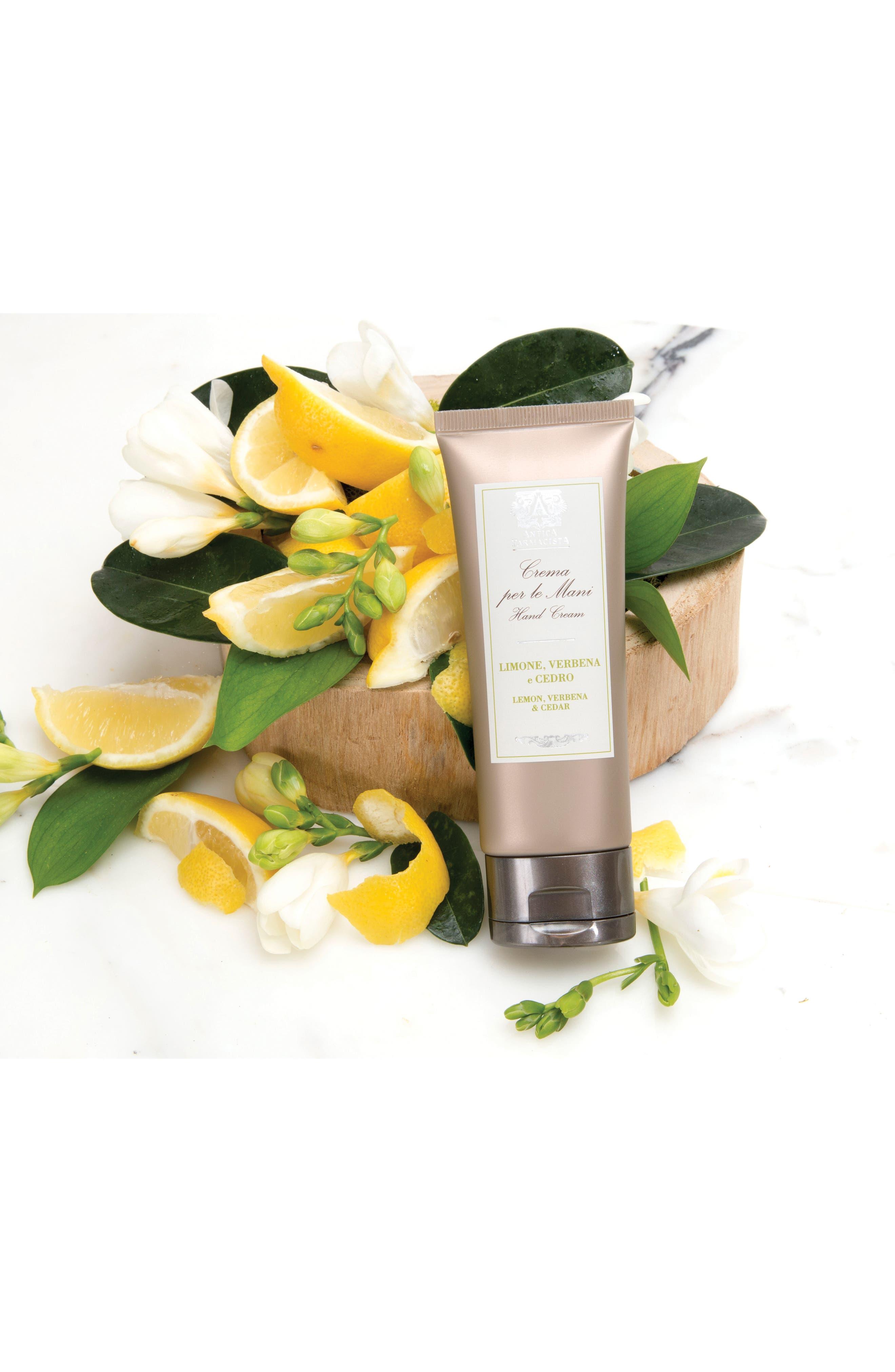 'Lemon, Verbena & Cedar' Hand Cream,                             Alternate thumbnail 2, color,                             000