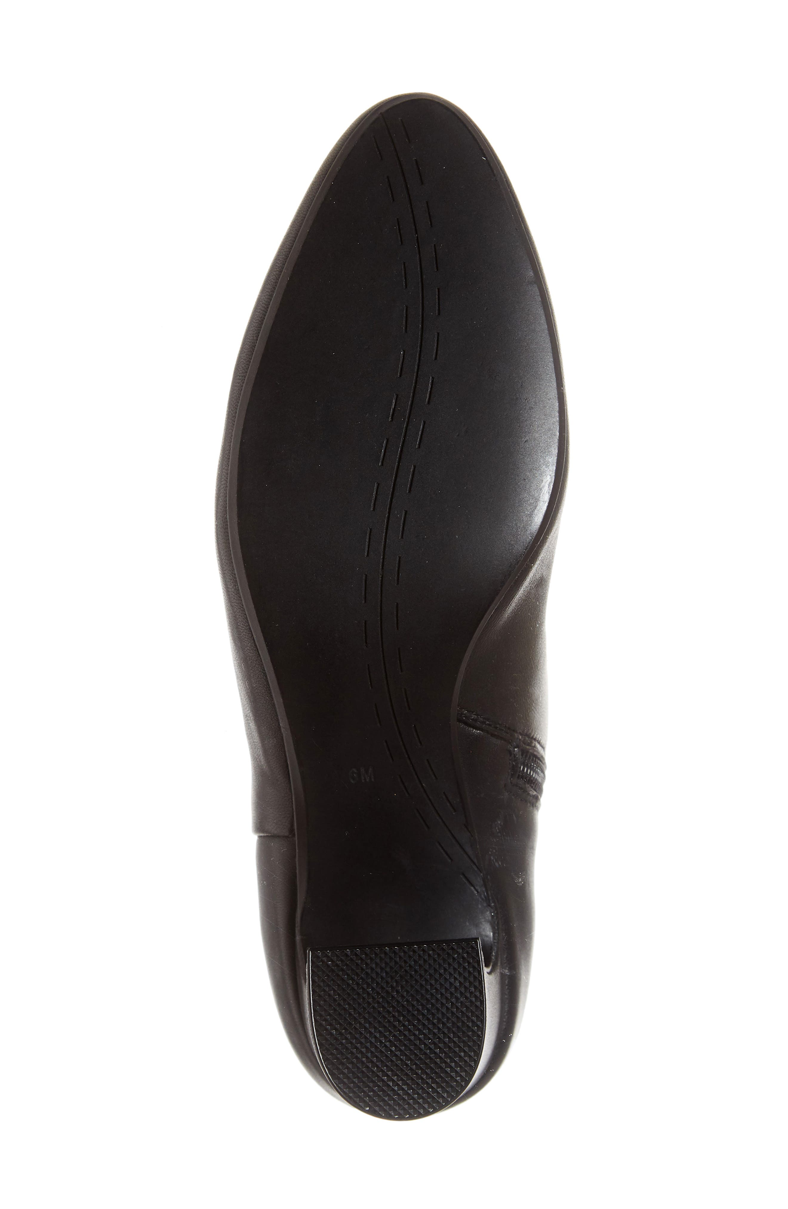 Dany Bootie,                             Alternate thumbnail 6, color,                             BLACK LEATHER