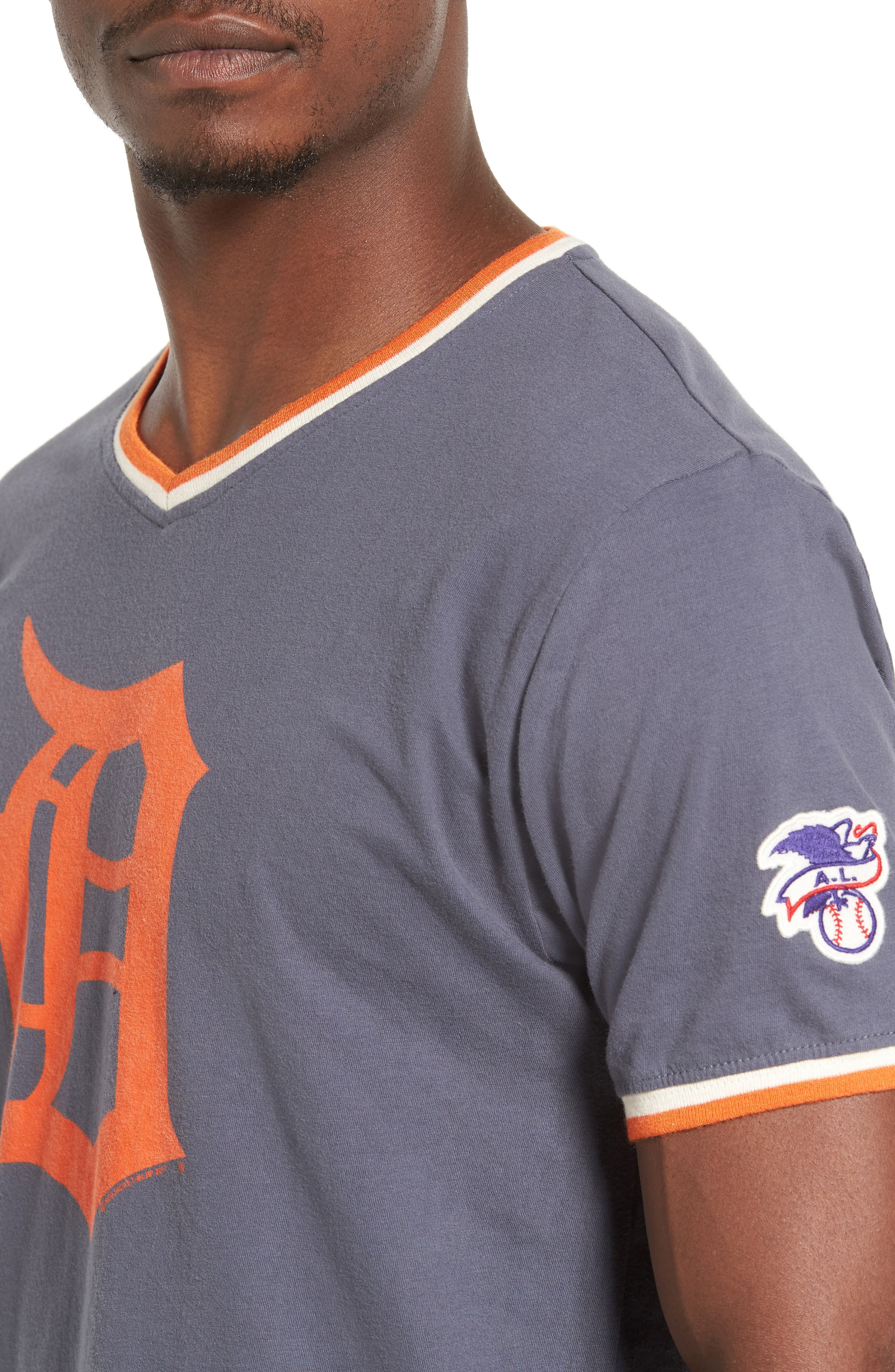 Eastwood Detroit Tigers T-Shirt,                             Alternate thumbnail 4, color,                             410