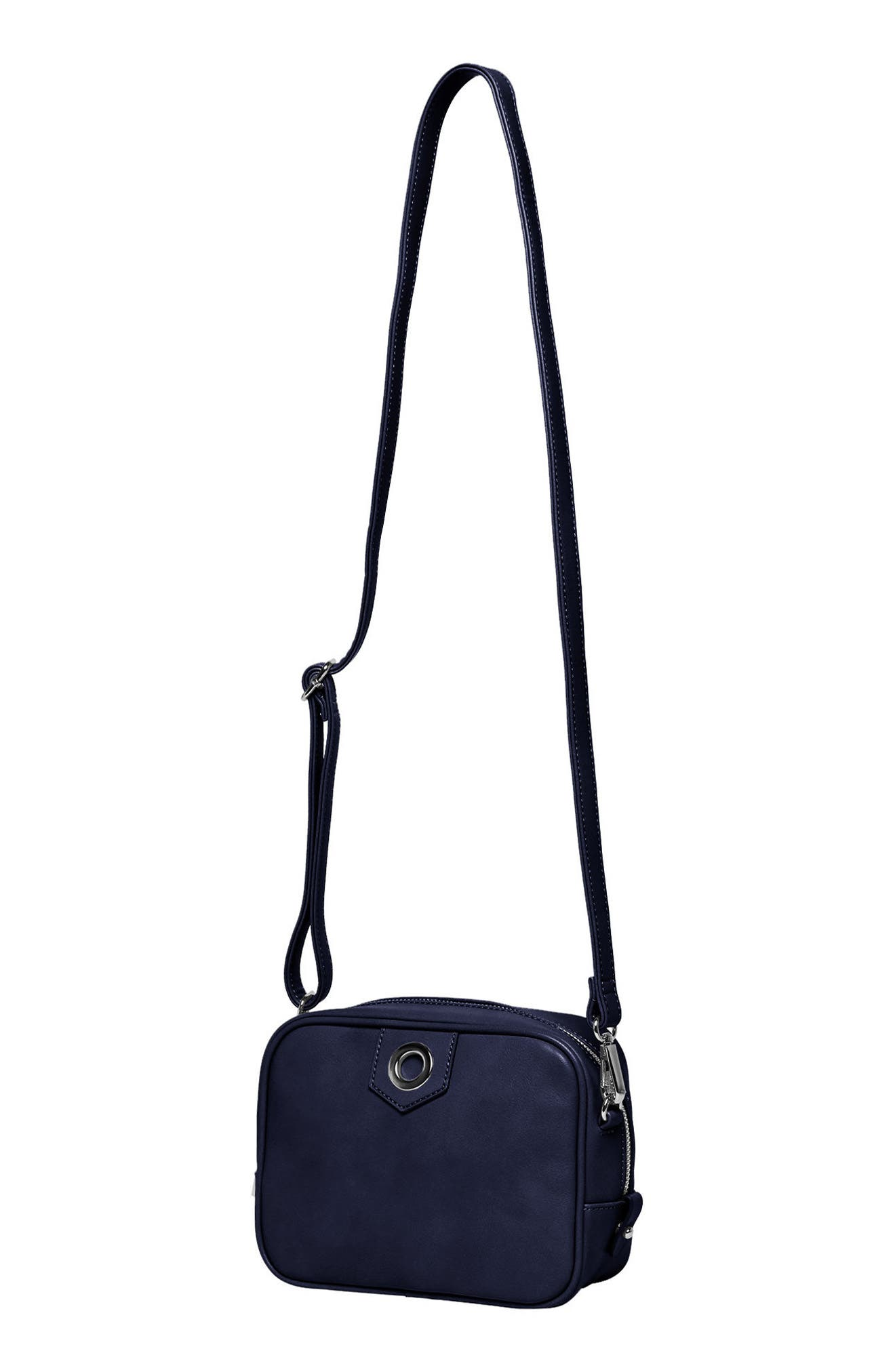 Dakota Vegan Leather Crossbody Bag,                             Alternate thumbnail 6, color,