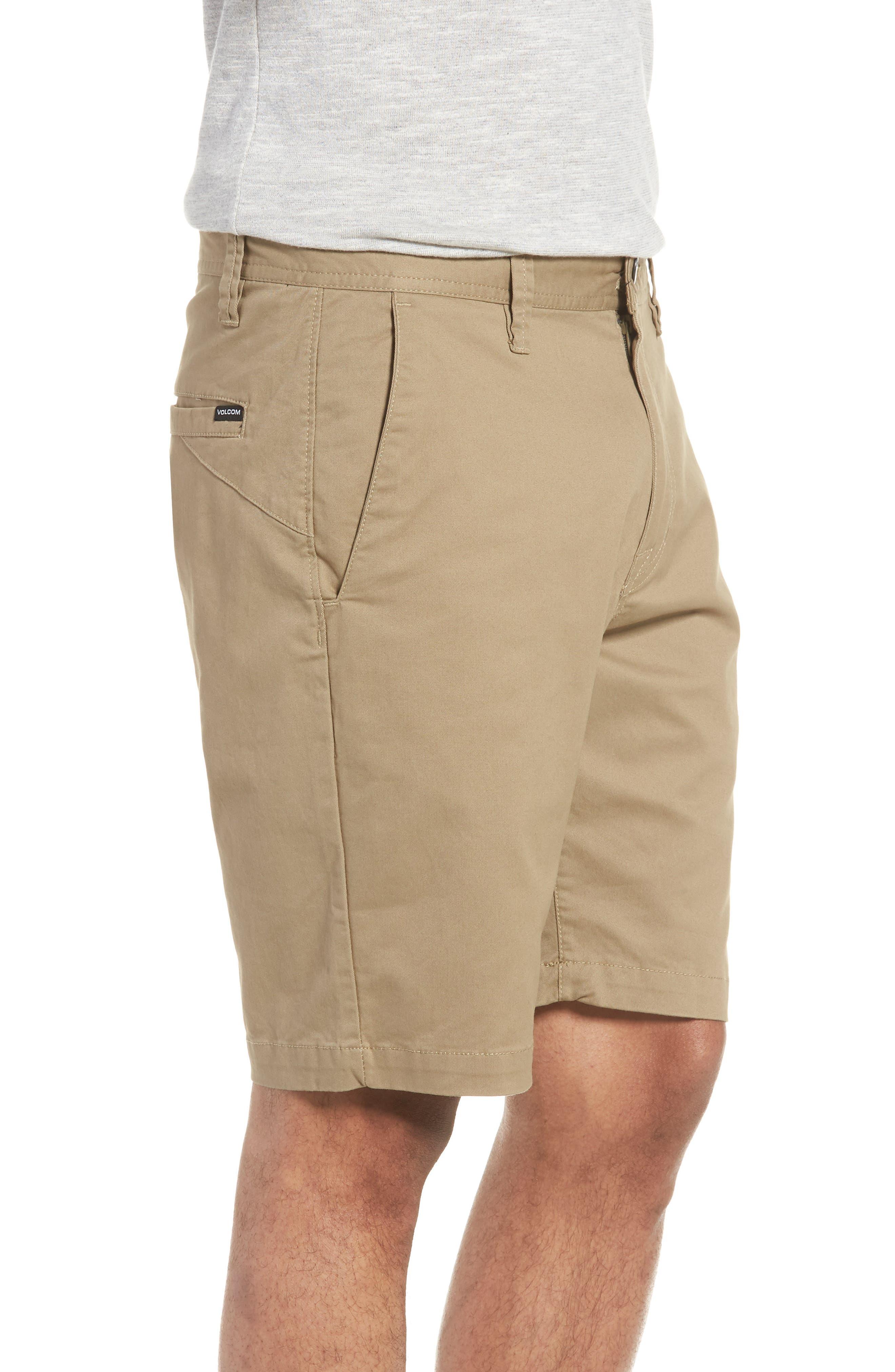 Lightweight Shorts,                             Alternate thumbnail 3, color,                             KHAKI