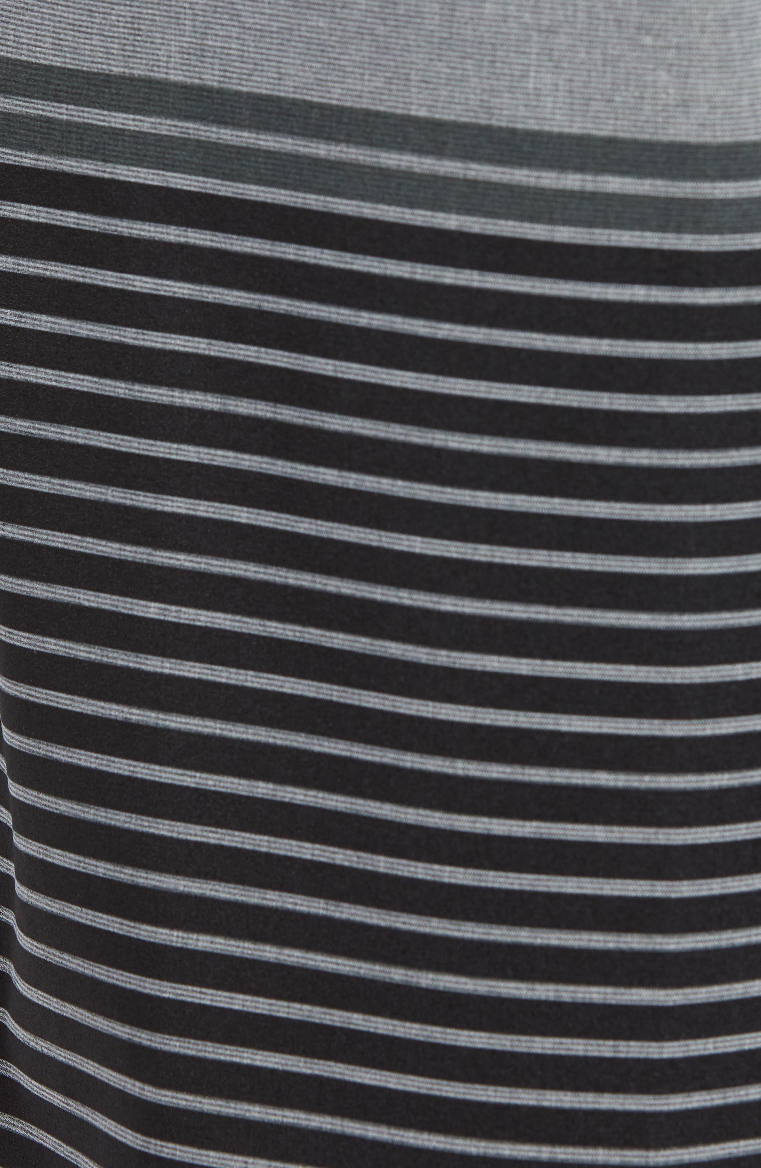 Liberty Stripe Board Shorts,                             Alternate thumbnail 5, color,                             DARK SHADOW