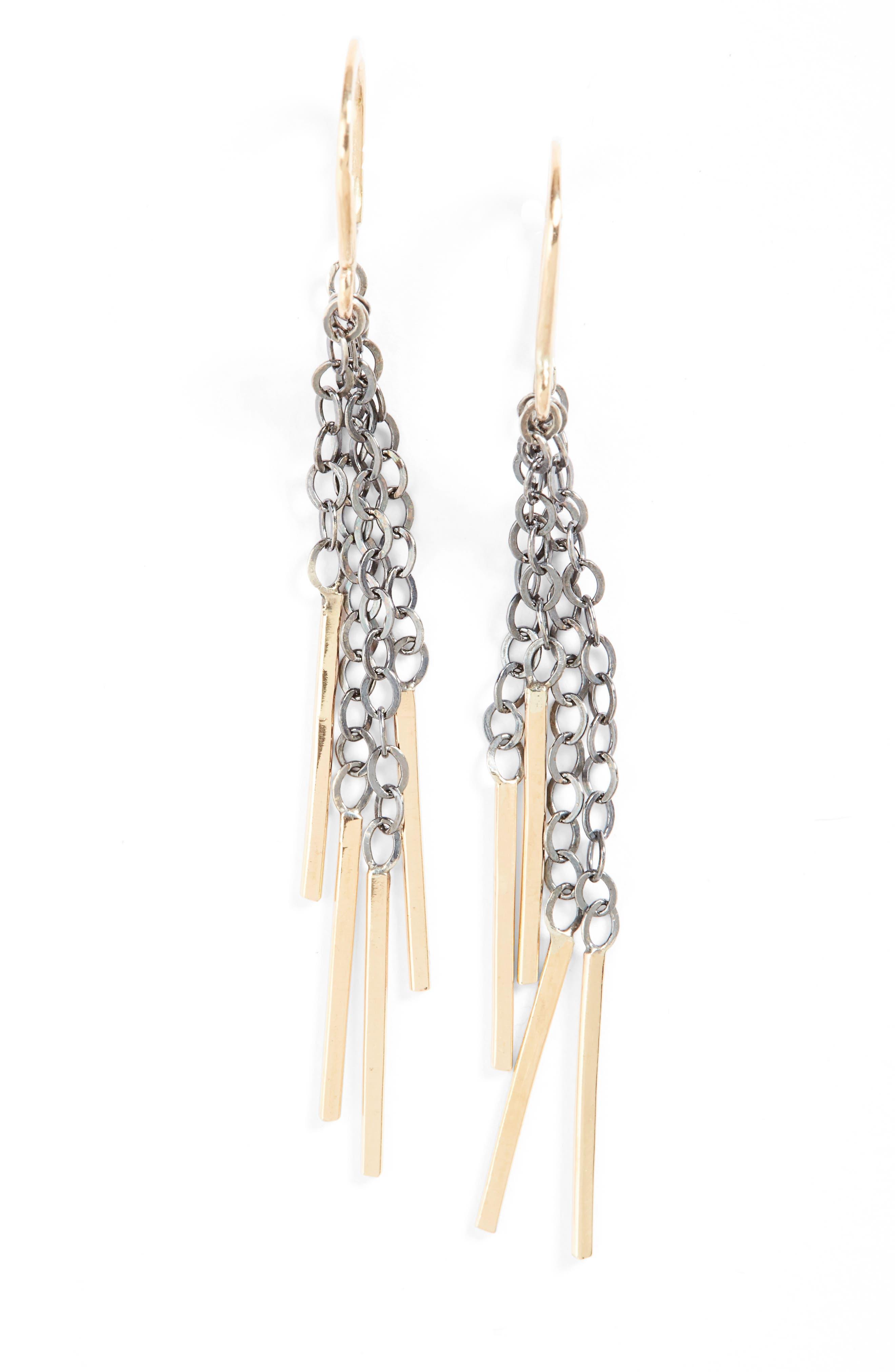 Horseshoe Drop Earrings,                         Main,                         color, 711