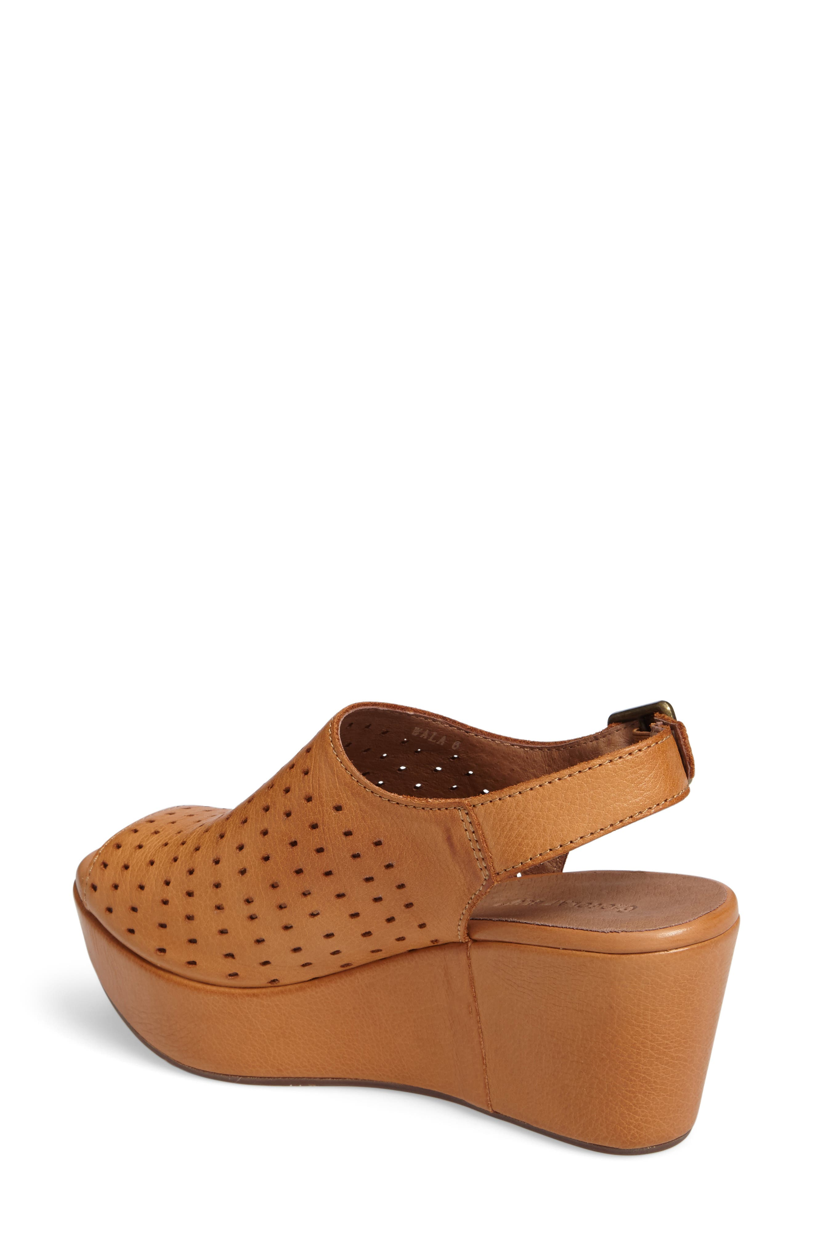 Wala Perforated Wedge Sandal,                             Alternate thumbnail 2, color,                             200