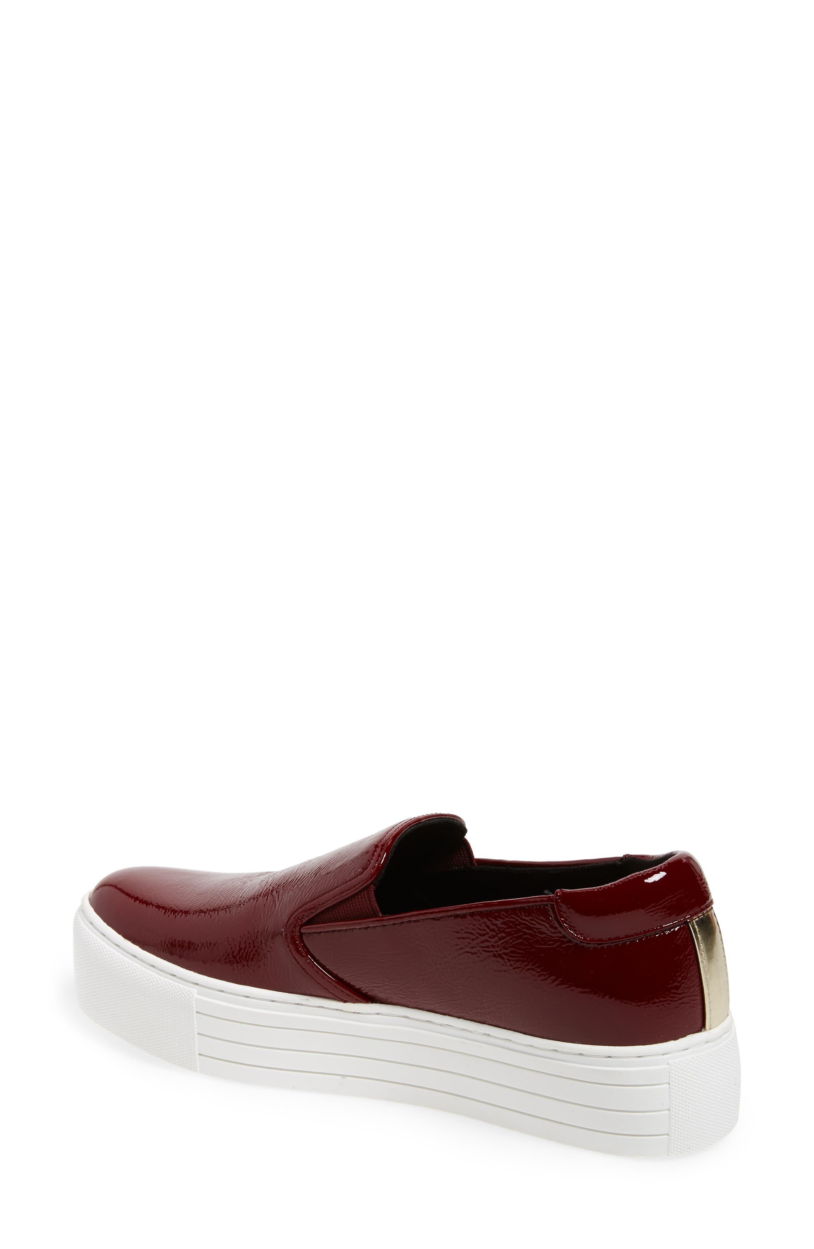 Joanie Slip-On Platform Sneaker,                             Alternate thumbnail 23, color,