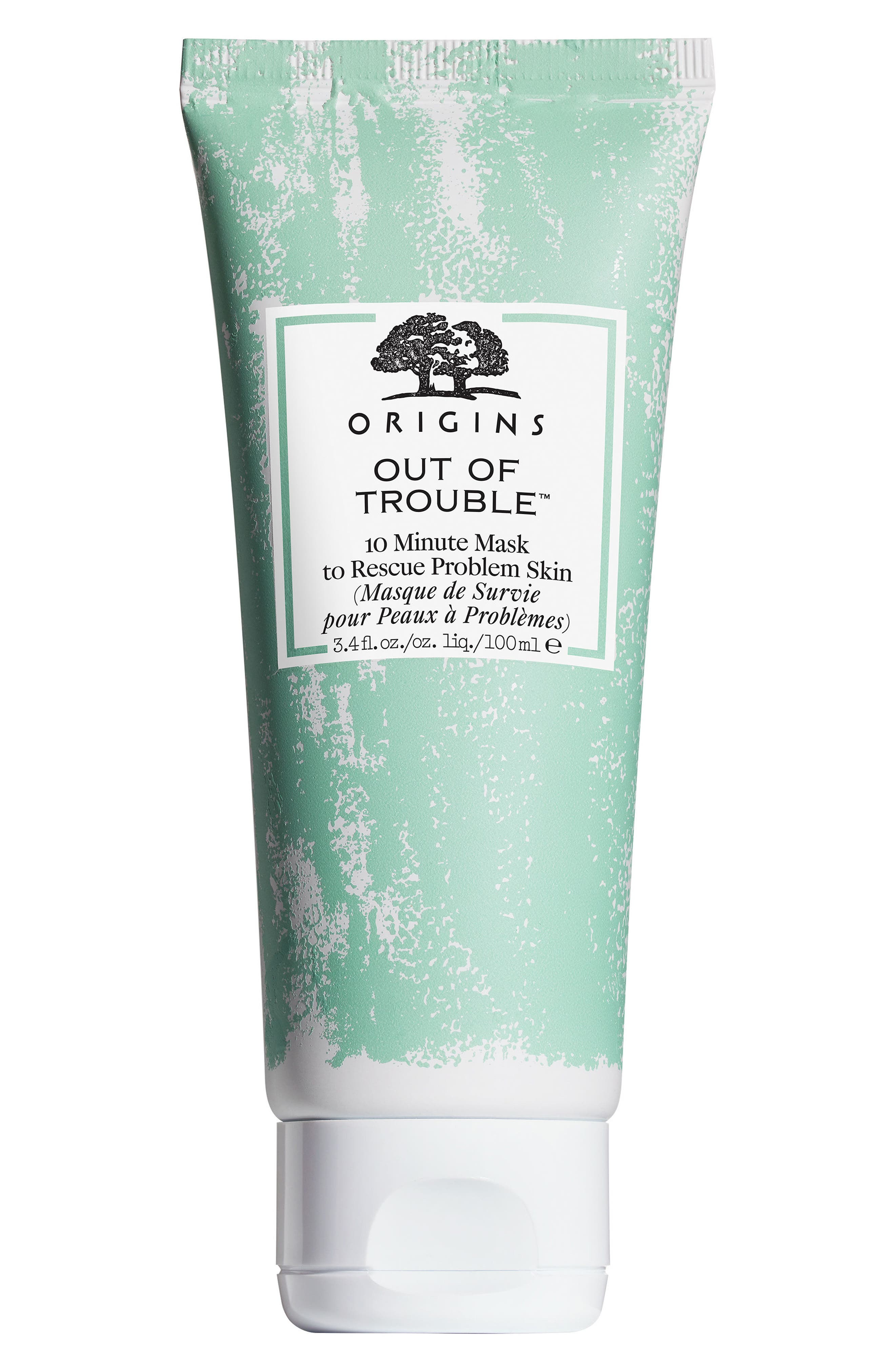 Out of Trouble<sup>®</sup> 10 Minute Mask to Rescue Problem Skin,                             Alternate thumbnail 2, color,                             000