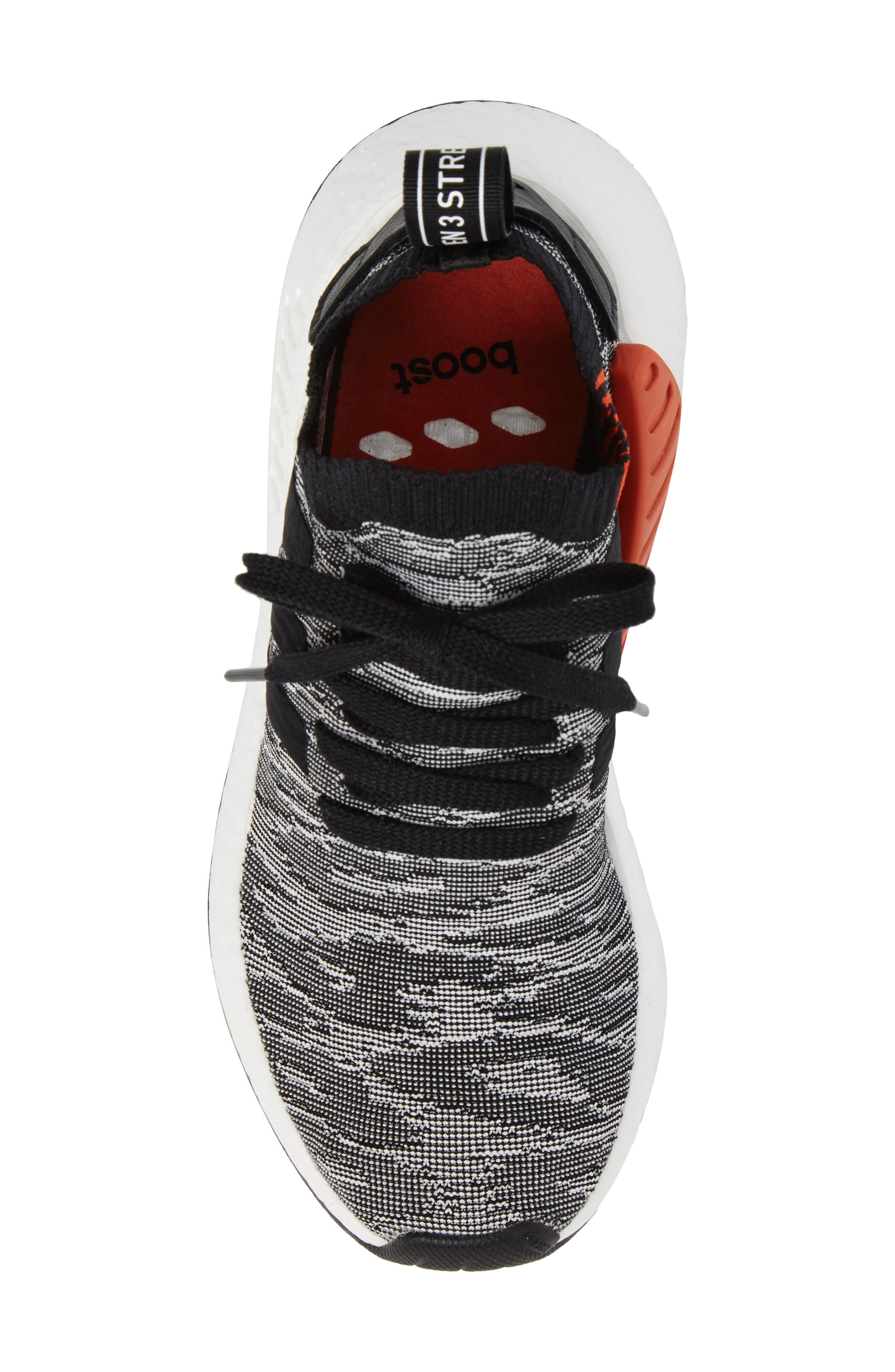NMD R2 Primeknit Athletic Shoe,                             Alternate thumbnail 22, color,