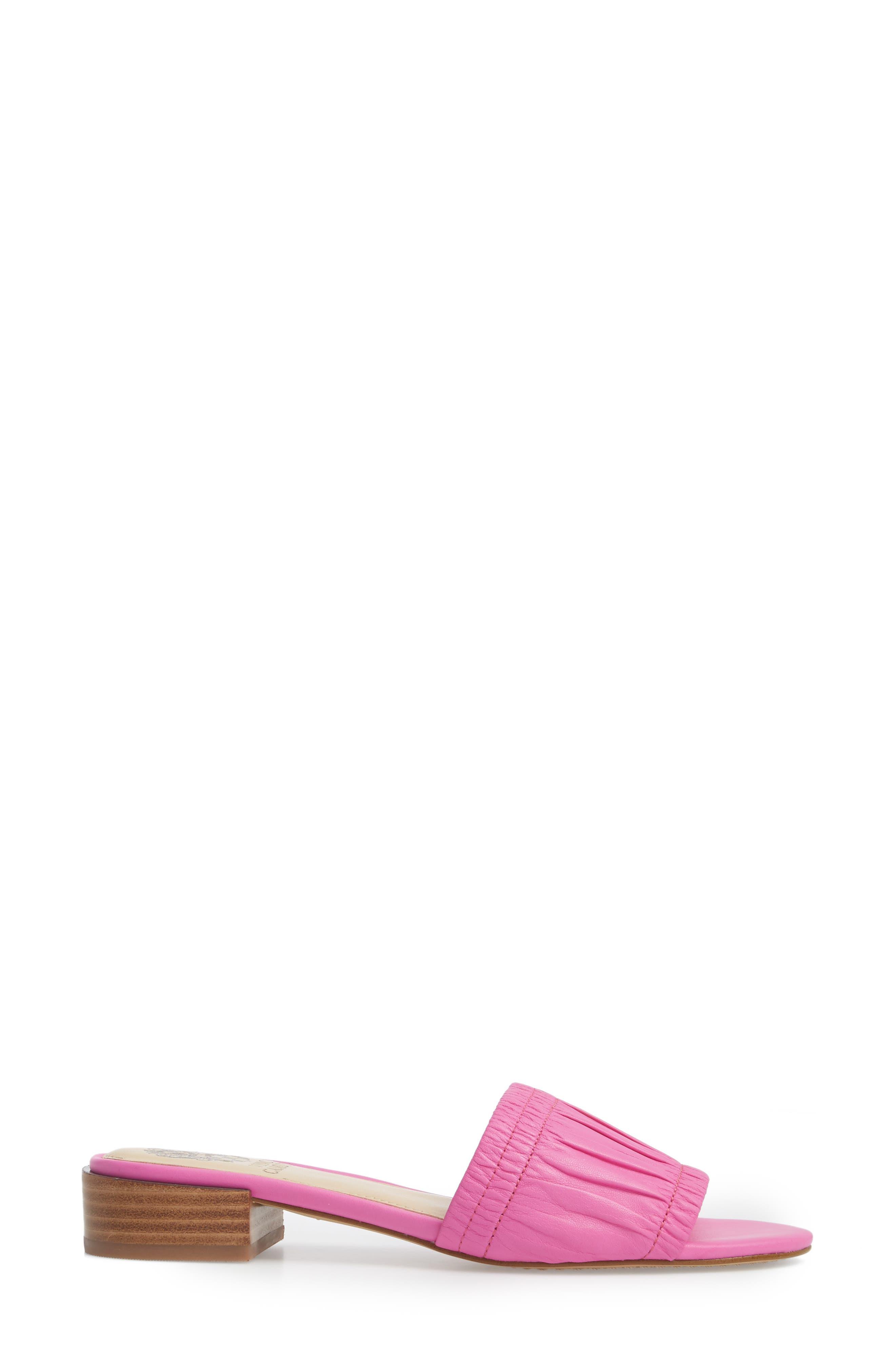 Nanita Pleated Slide Sandal,                             Alternate thumbnail 12, color,