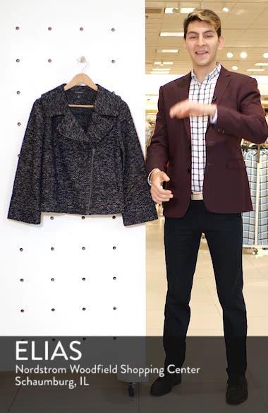 Tweed Moto Jacket, sales video thumbnail