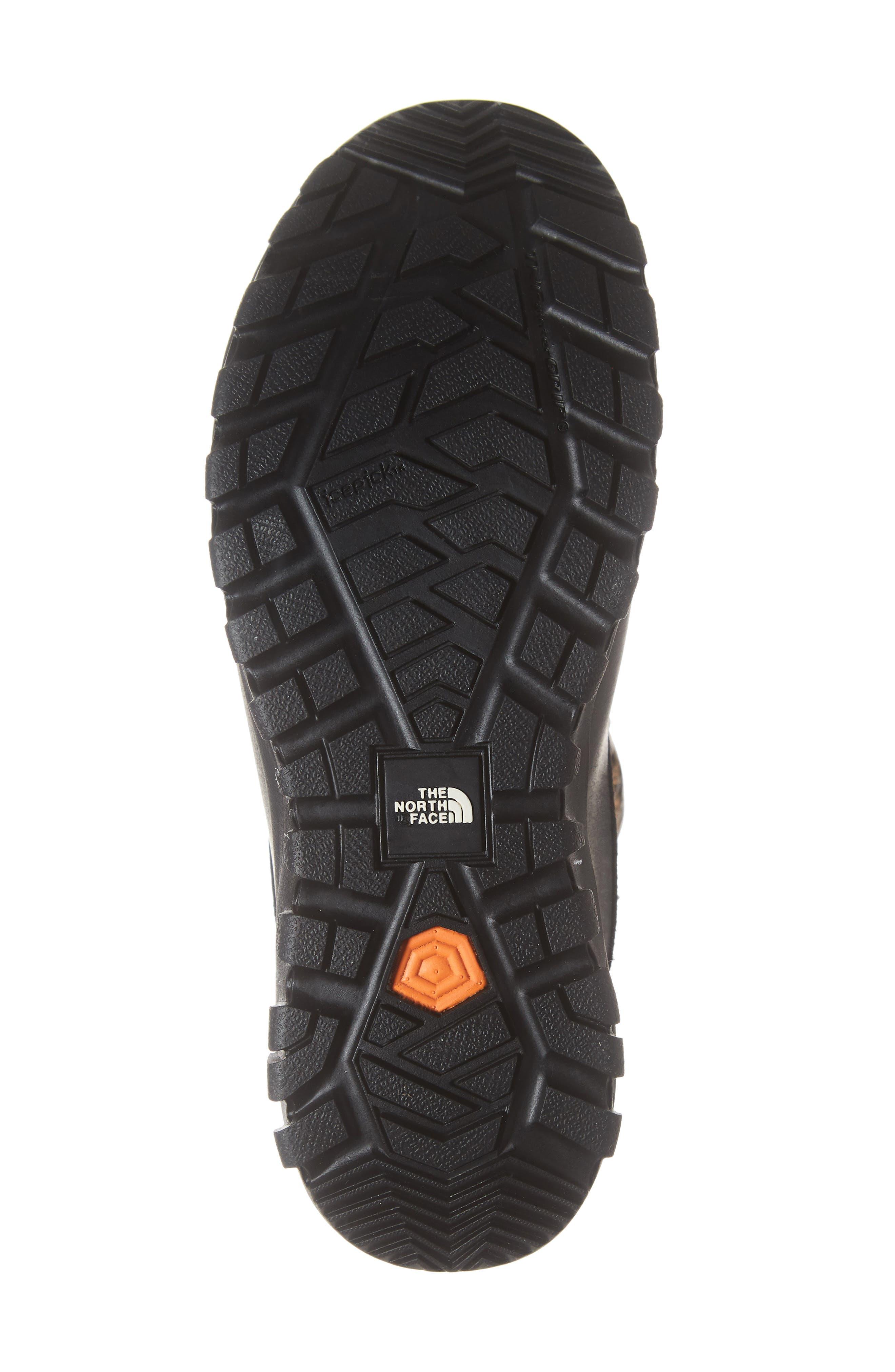Yukiona Waterproof Ankle Boot,                             Alternate thumbnail 6, color,                             BLACK/ METALLIC COPPER