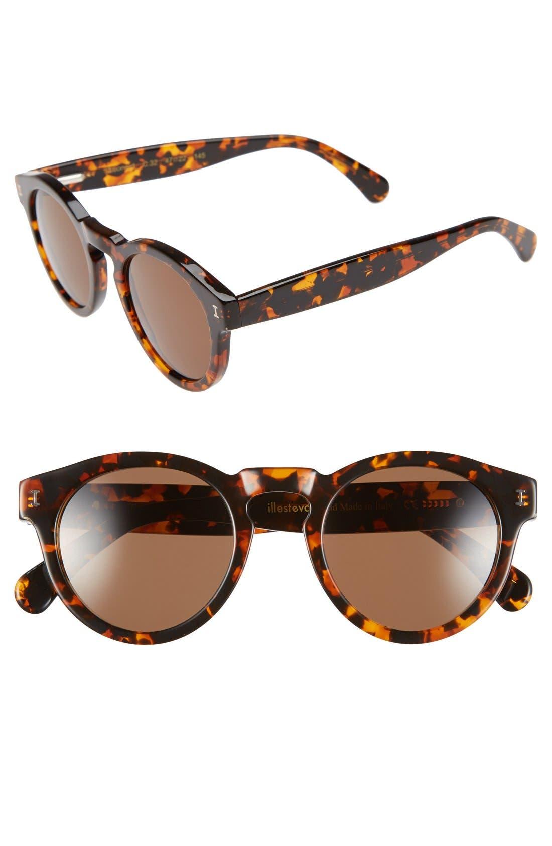 'Leonard' 47mm Sunglasses,                             Main thumbnail 54, color,