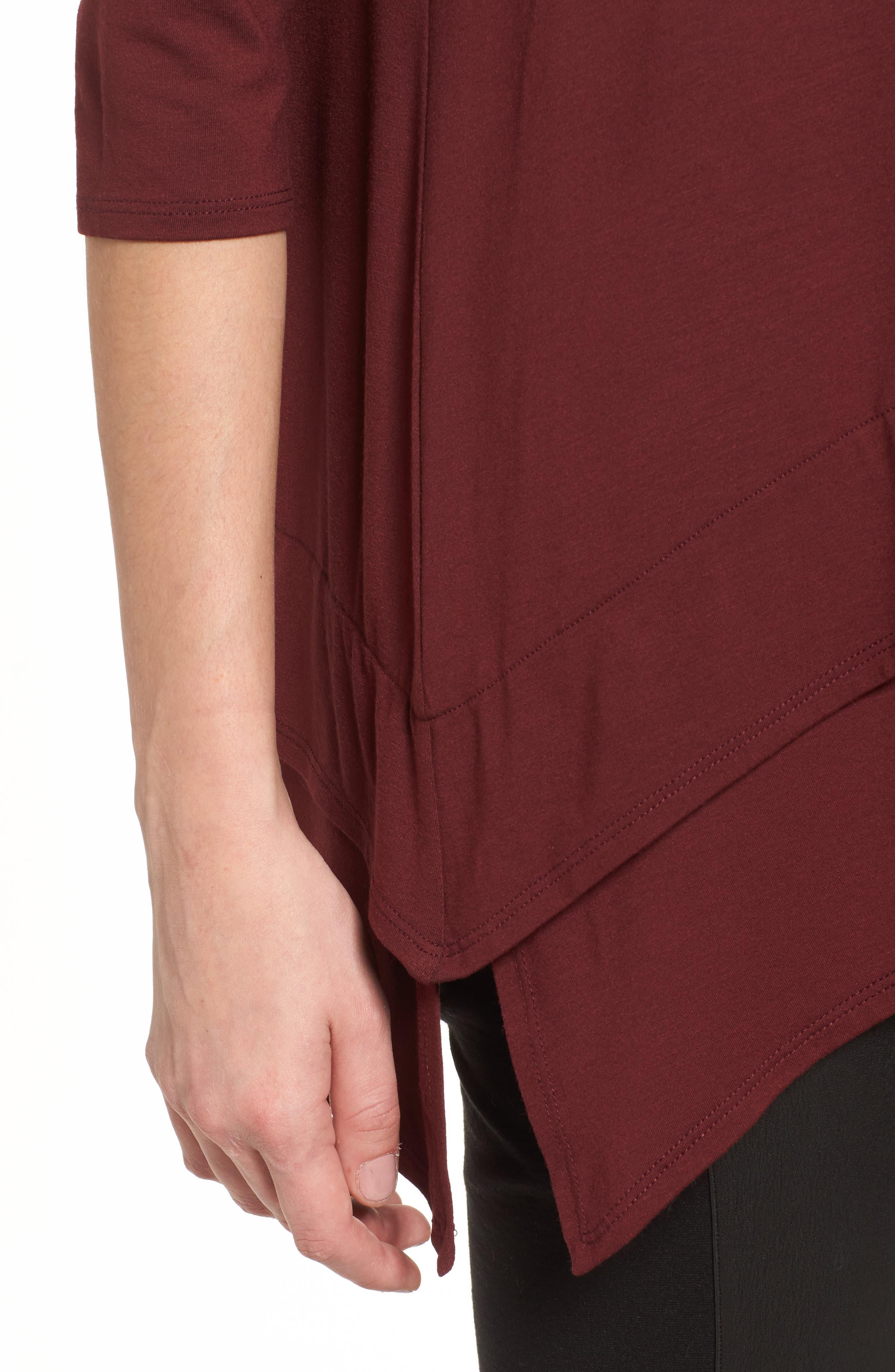 Tiered Handkerchief Hem Tunic,                             Alternate thumbnail 20, color,