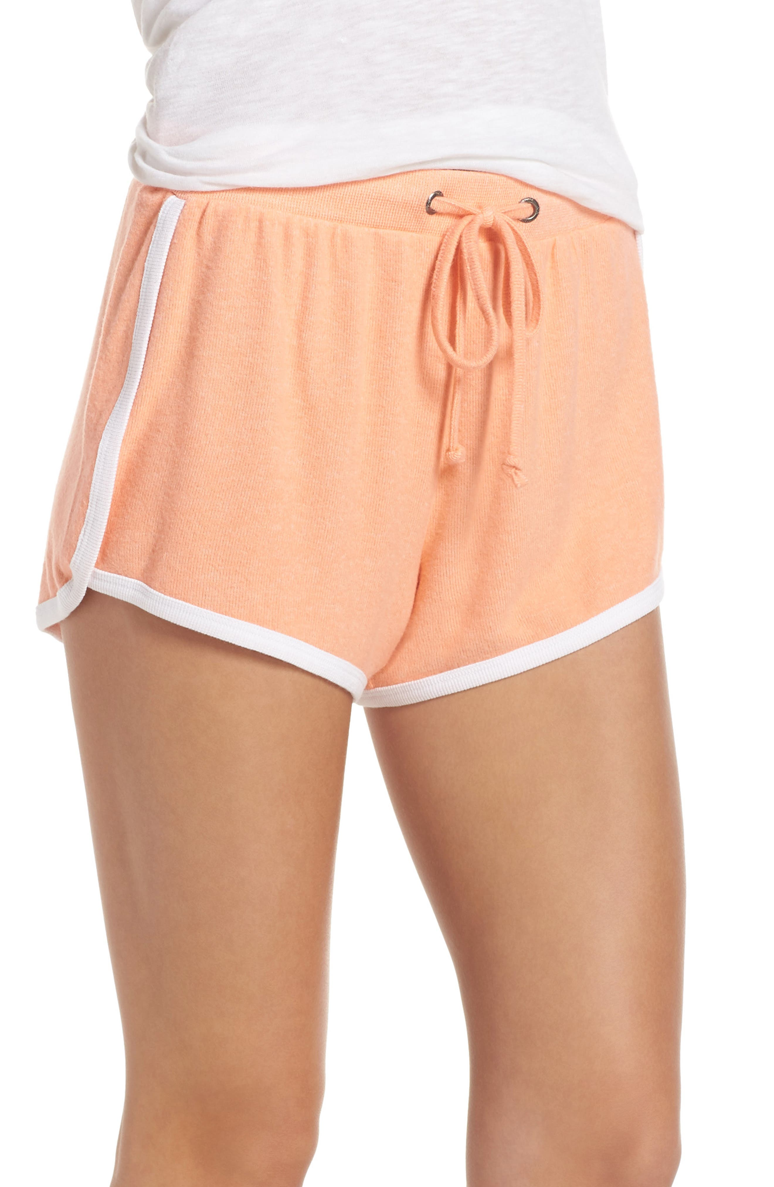 Too Cool Shorts,                         Main,                         color, CORAL PINK