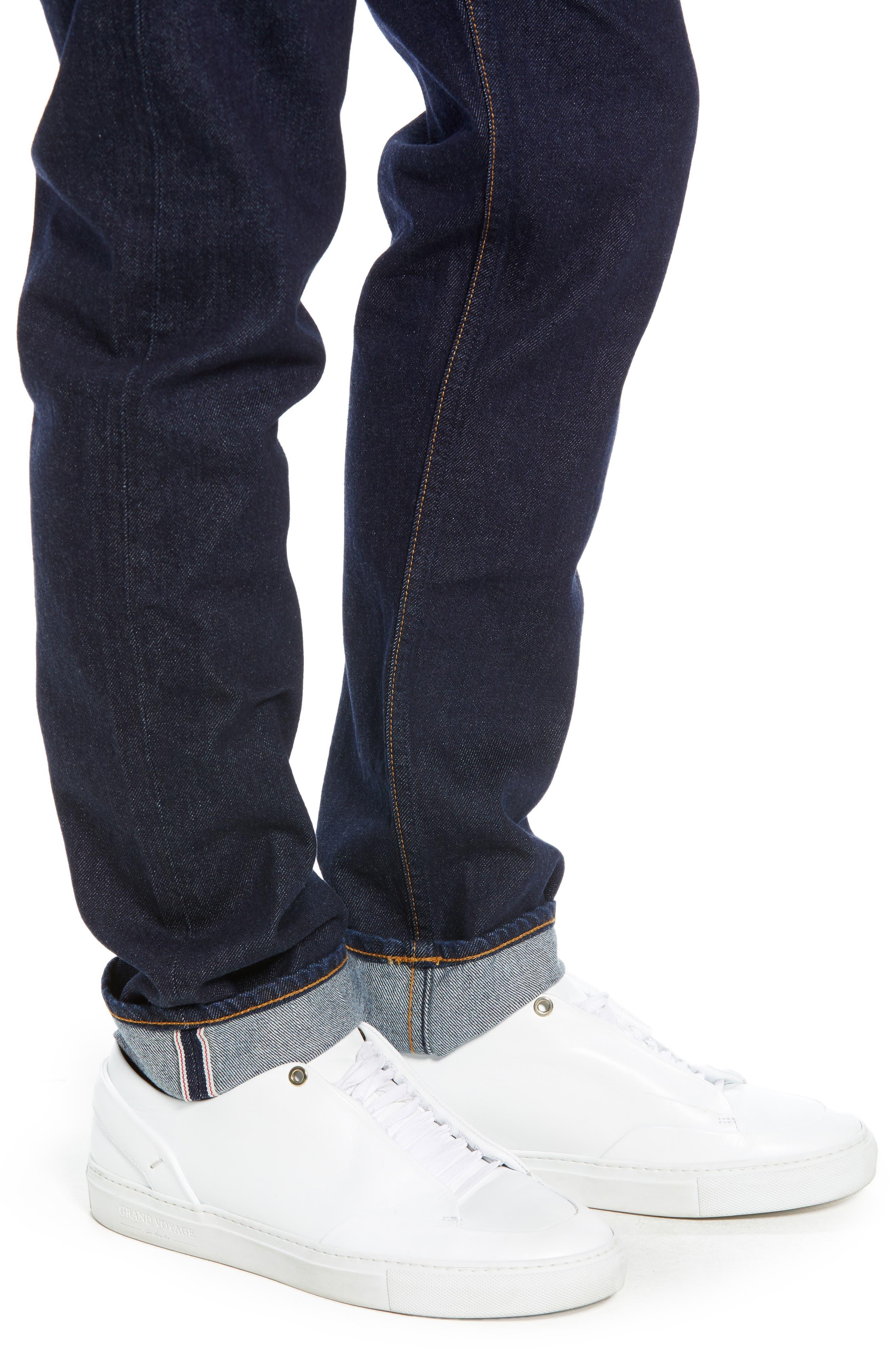 Fit 2 Slim Fit Jeans,                             Alternate thumbnail 4, color,                             420