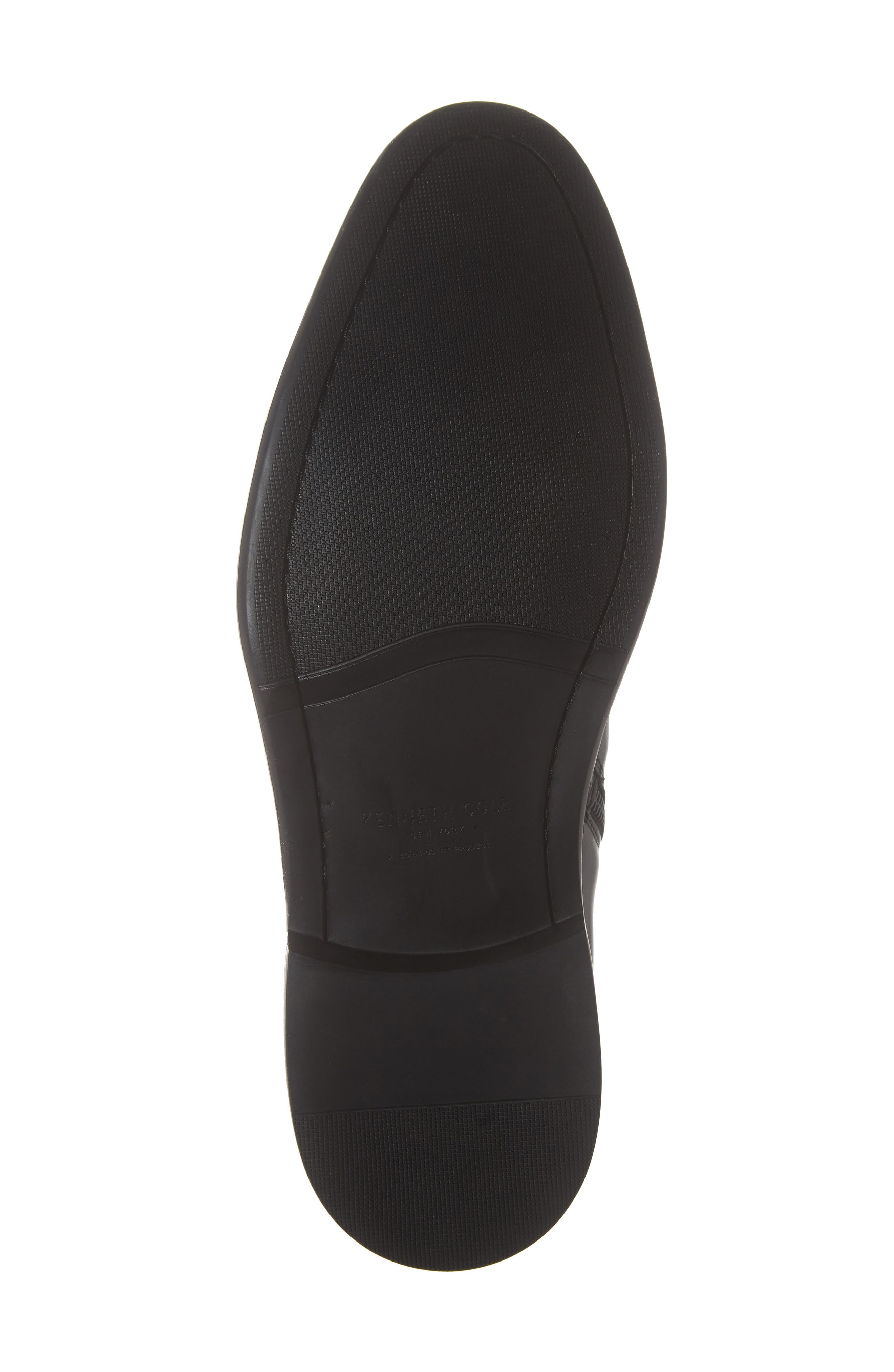 Garner Zip Boot,                             Alternate thumbnail 6, color,                             BLACK LEATHER