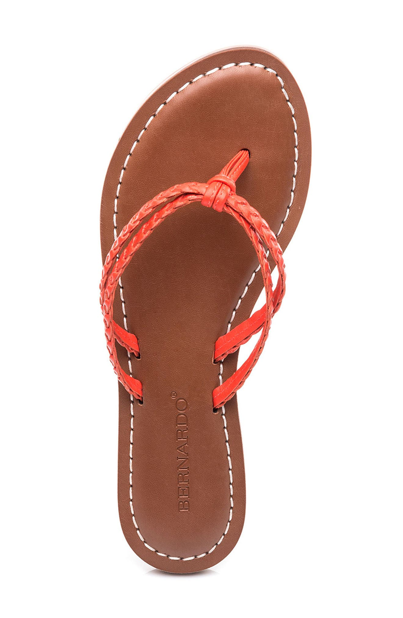 Bernardo Greta Braided Strap Sandal,                             Alternate thumbnail 35, color,