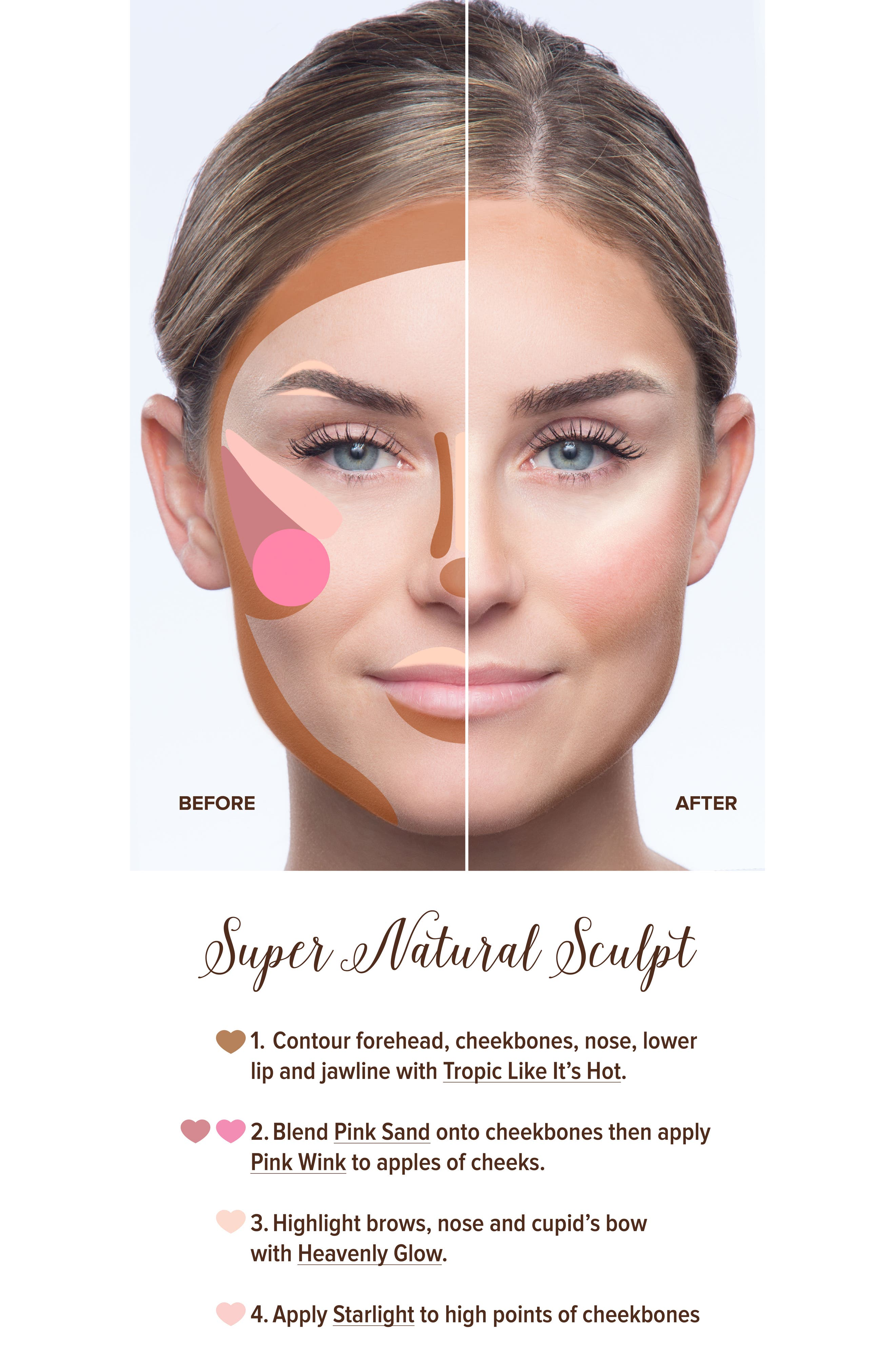 Natural Face Palette,                             Alternate thumbnail 3, color,                             NO COLOR