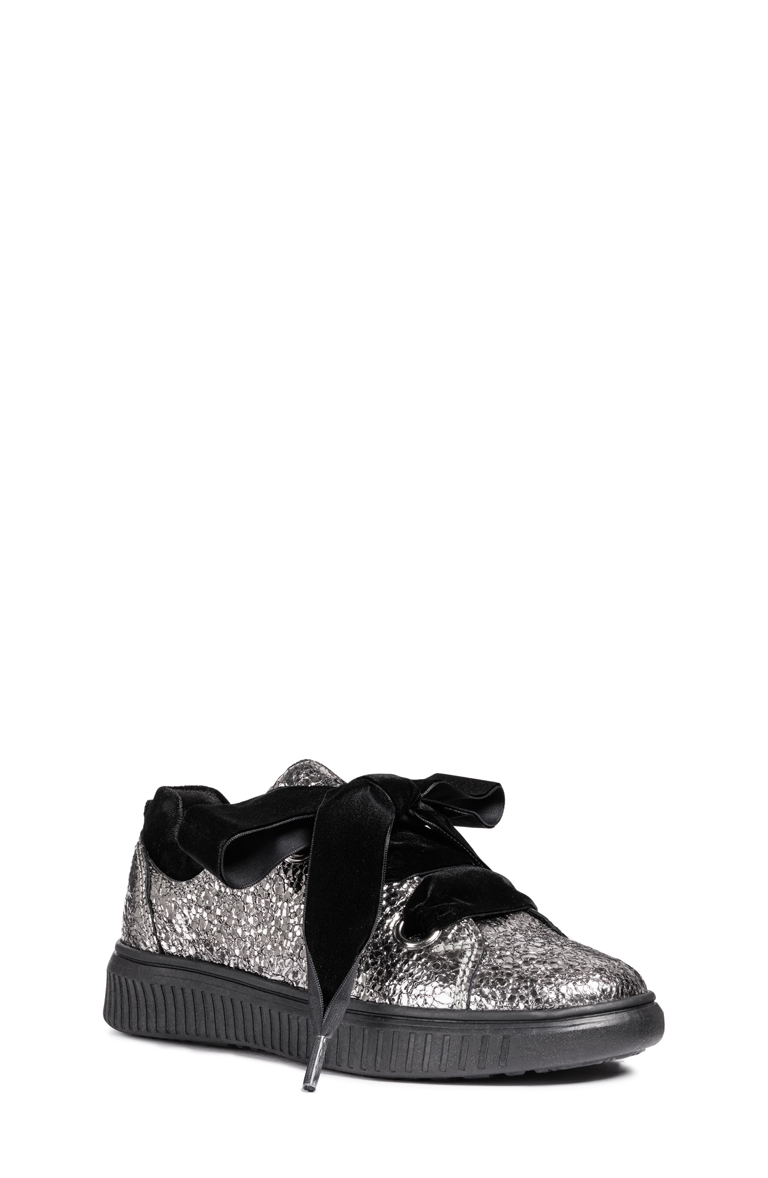 Disco Mix Sneaker,                         Main,                         color, DARK SILVER