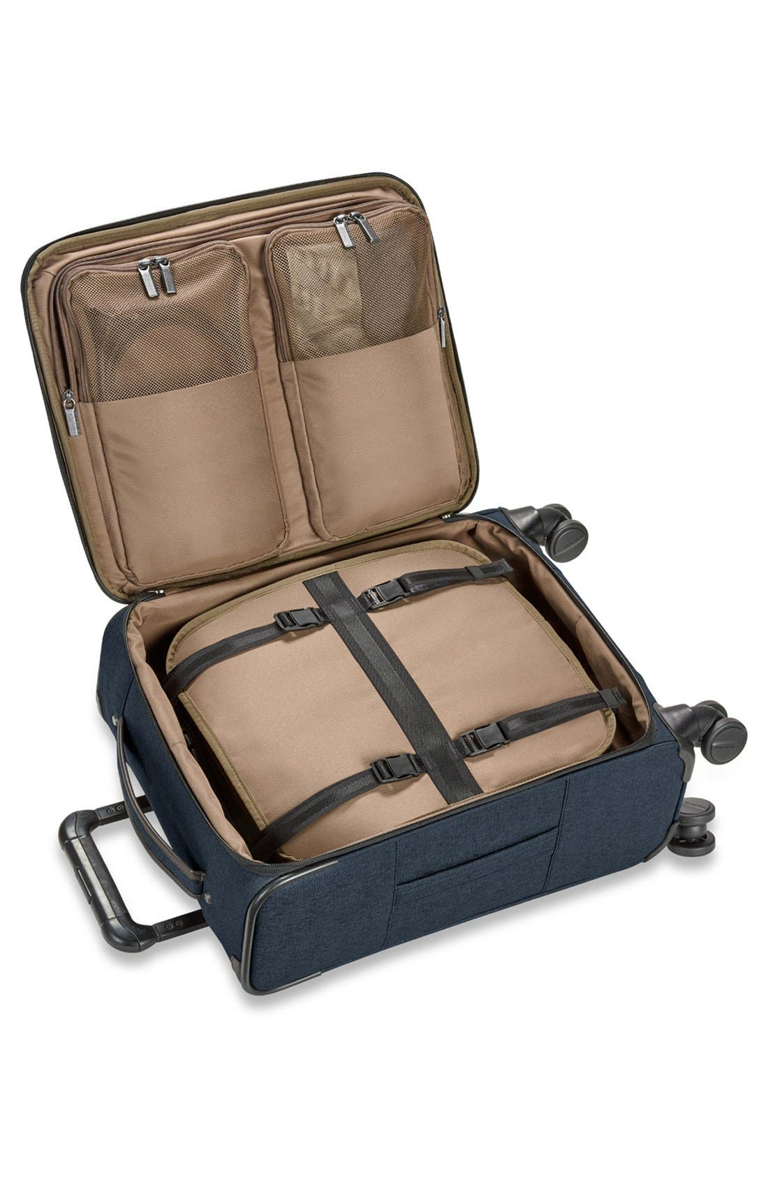 'Kinzie Street' International Wheeled Carry-On,                             Alternate thumbnail 2, color,                             NAVY BLUE