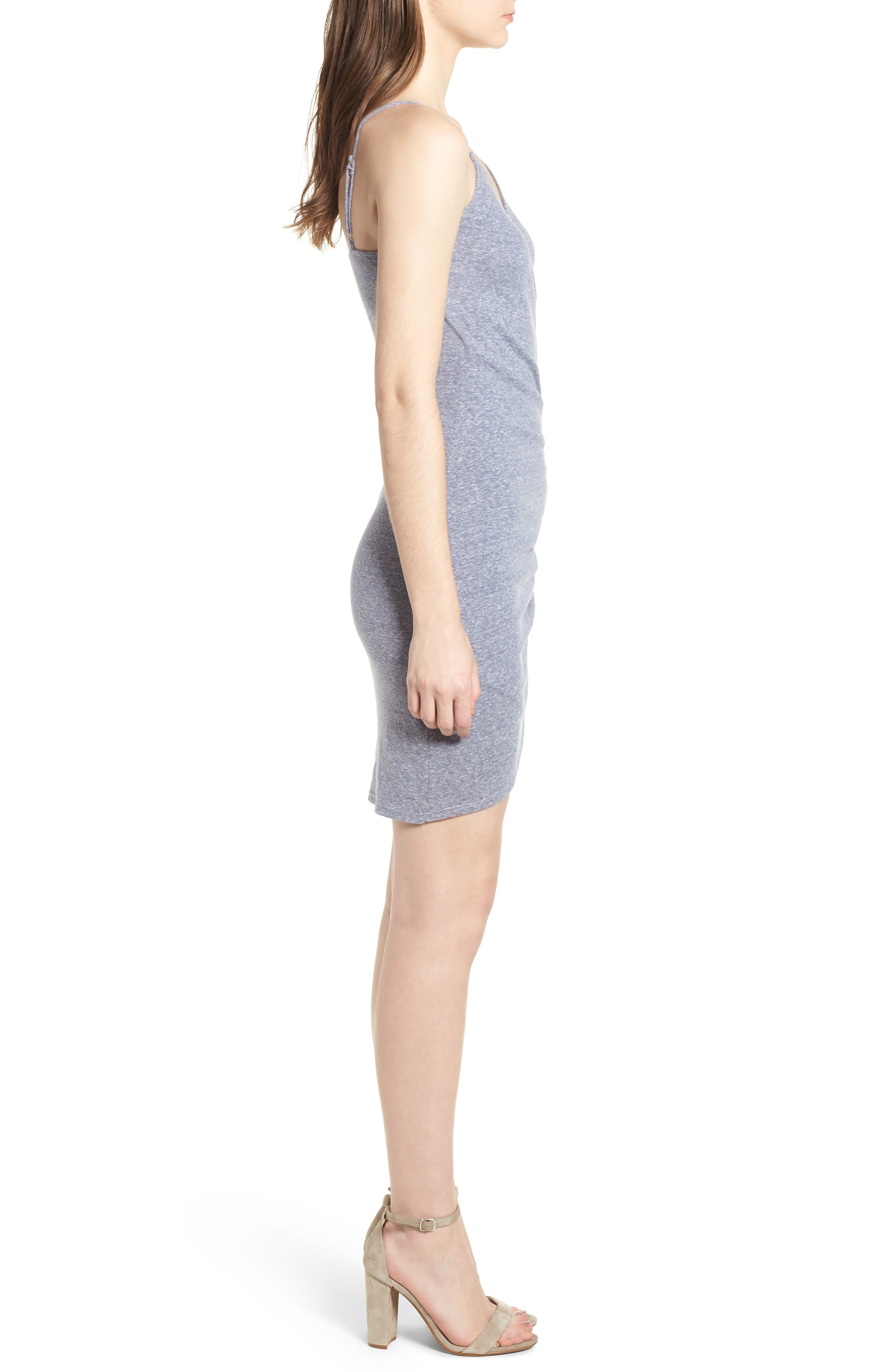 Ruched Sheath Dress,                             Alternate thumbnail 3, color,                             429