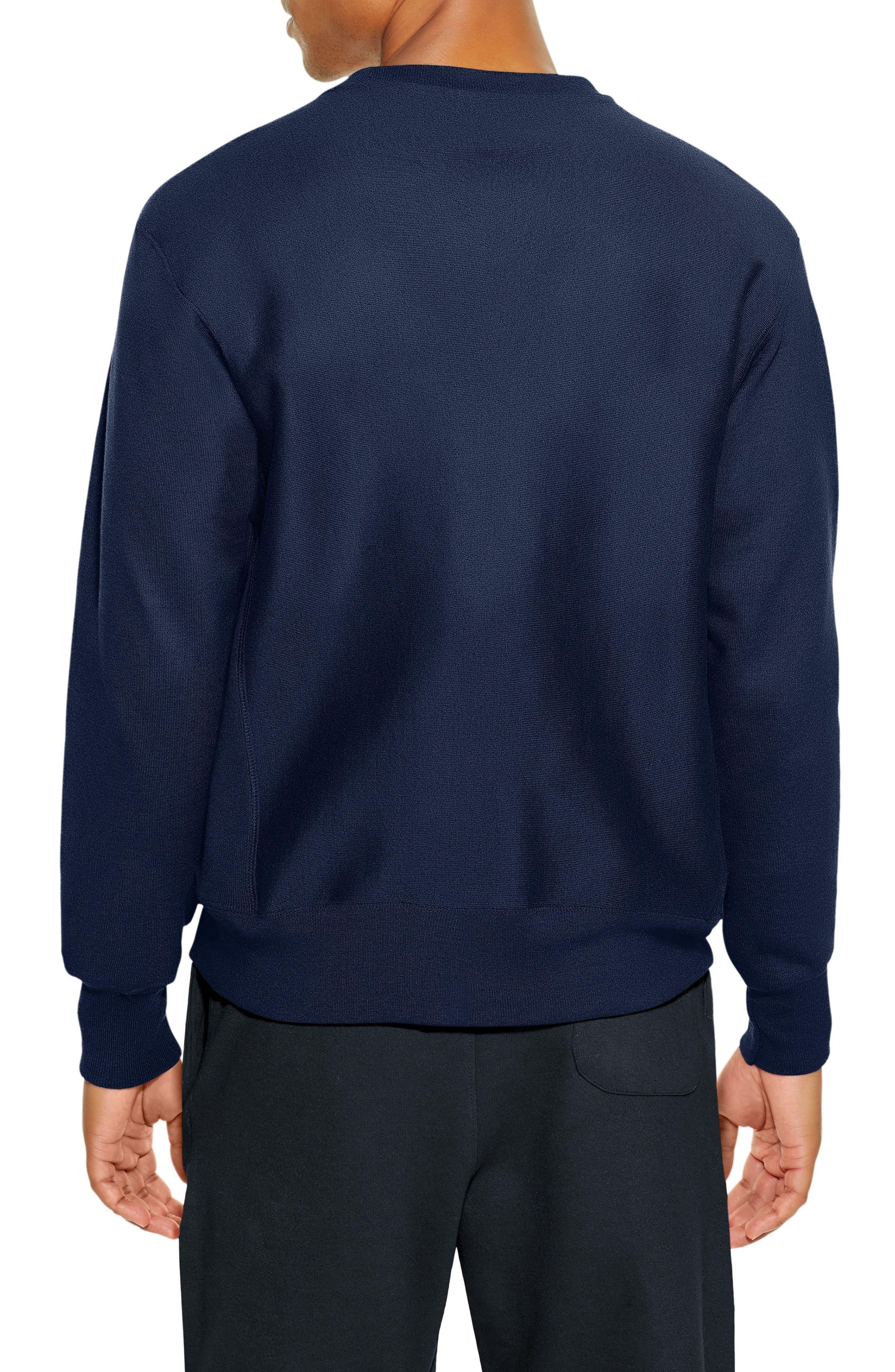 Reverse Weave Sweatshirt,                             Alternate thumbnail 12, color,