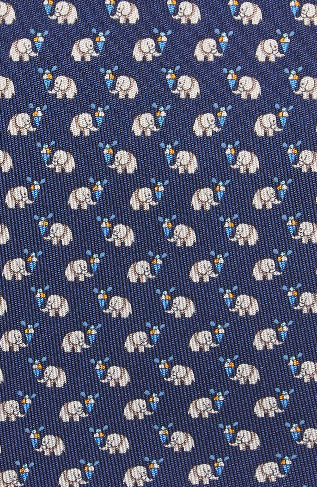 Euforia Print Silk Tie,                             Alternate thumbnail 2, color,                             491