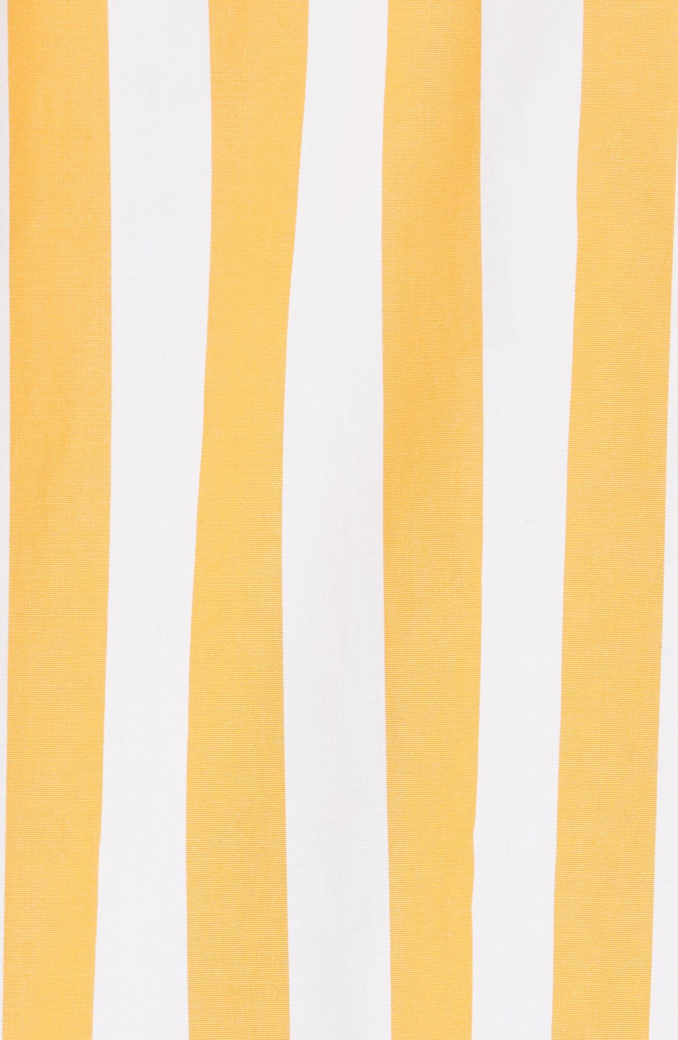 The Keaton Stripe Crop Shirt,                             Alternate thumbnail 5, color,