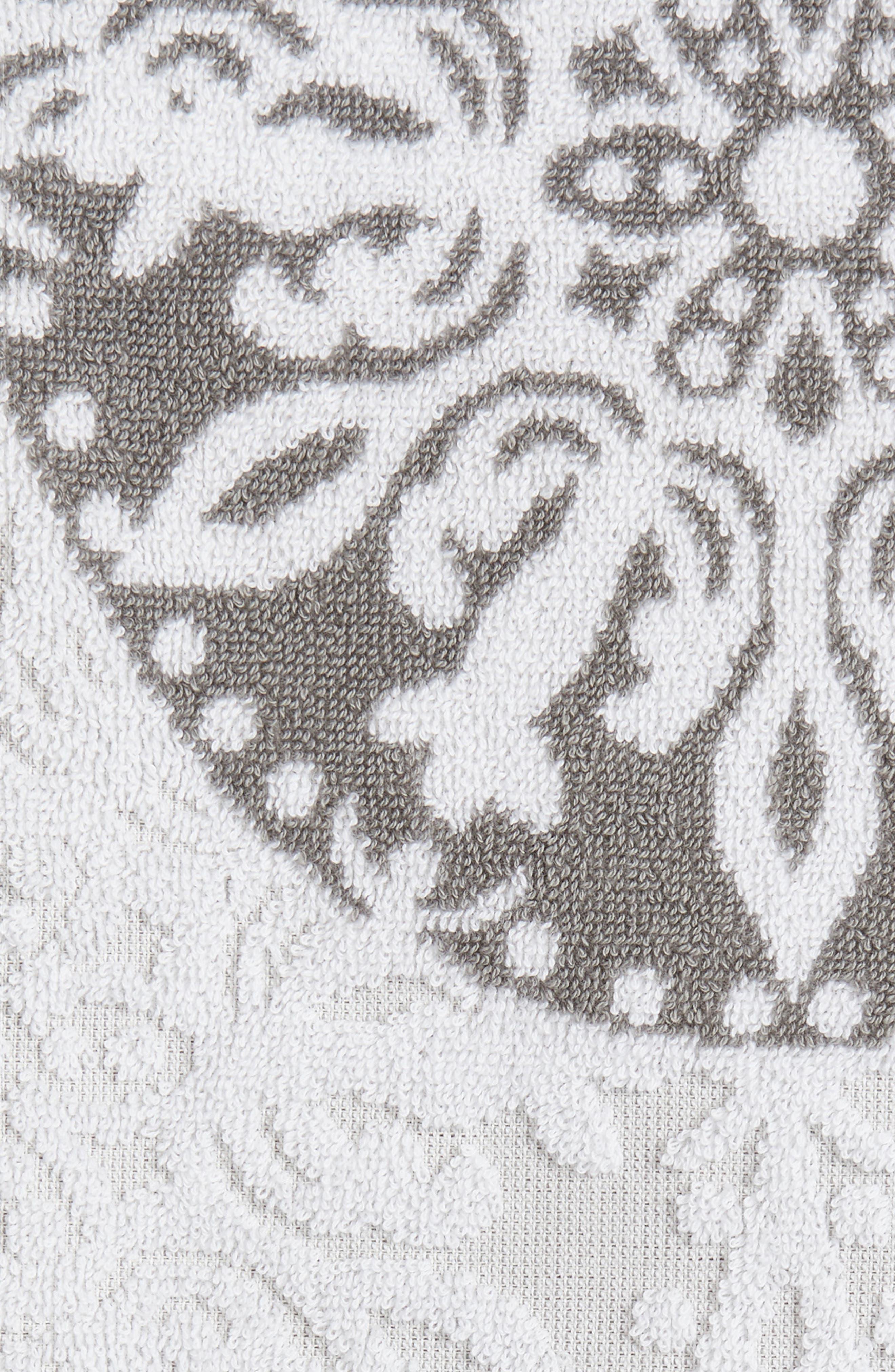 Fan Ombré Jacquard Hand Towel,                             Alternate thumbnail 2, color,                             020