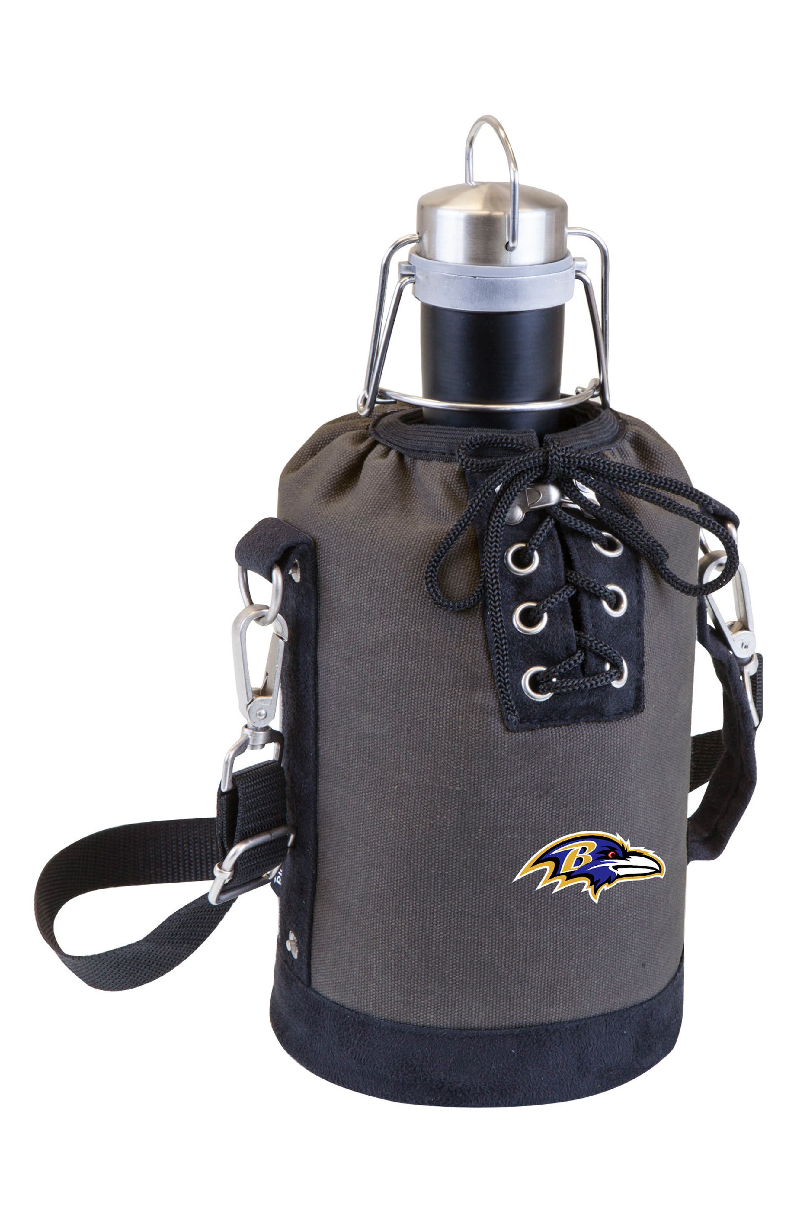 NFL Team Logo Tote & Stainless Steel Growler,                             Main thumbnail 3, color,