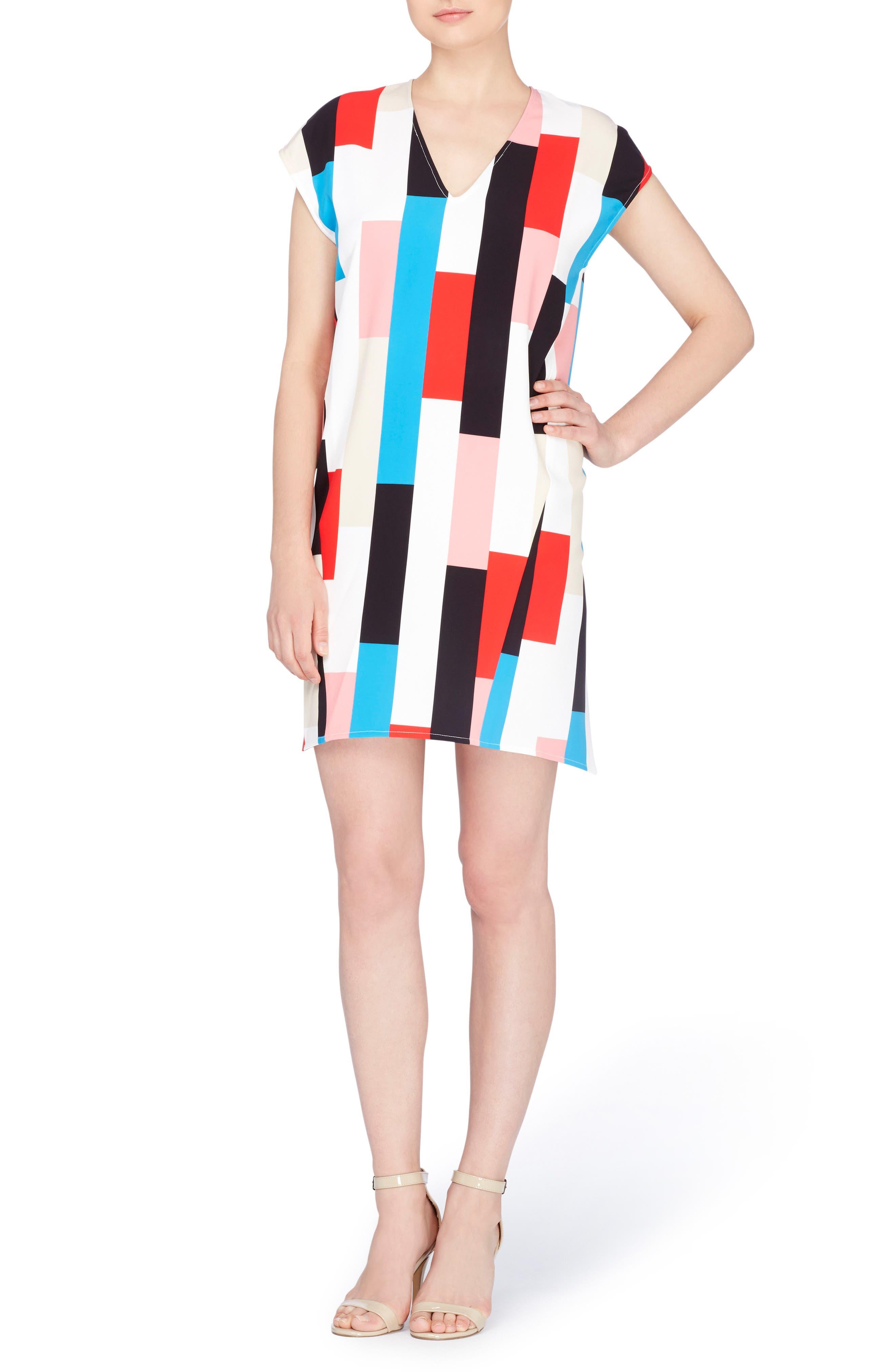 Manson Dress,                         Main,                         color, 100