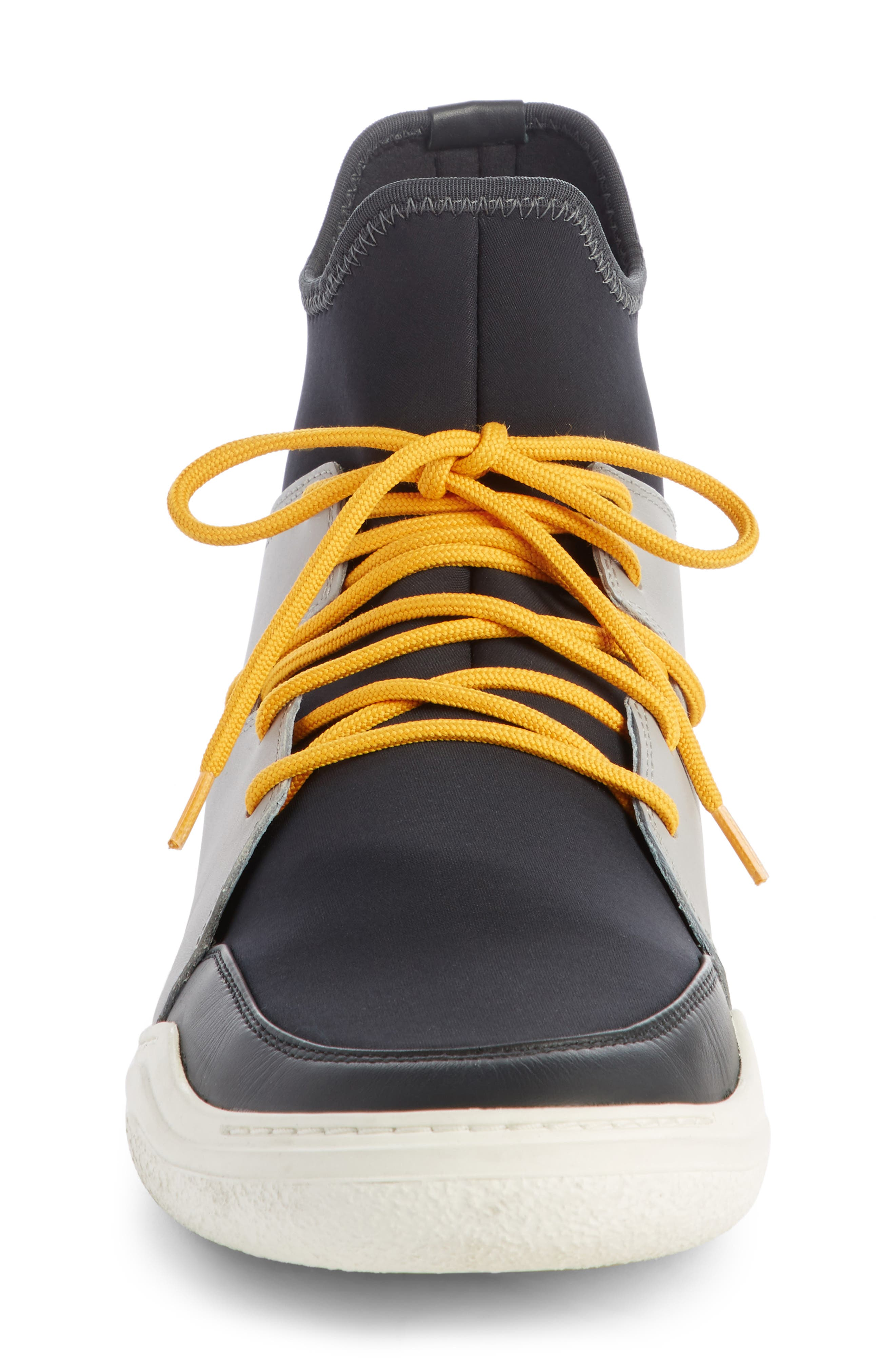 High Top Sneaker,                             Alternate thumbnail 3, color,                             001