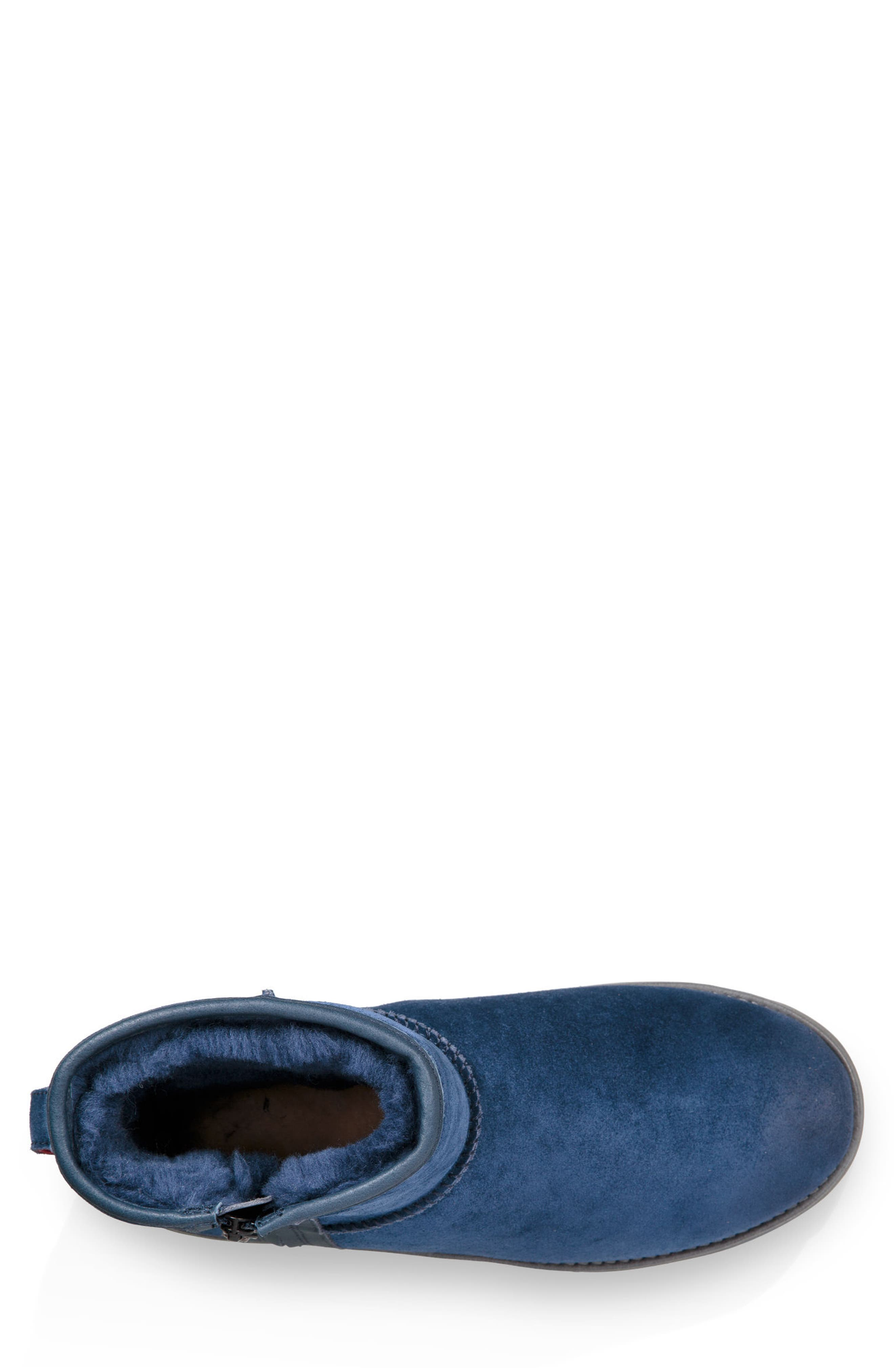 Mini Zip Waterproof Boot,                             Alternate thumbnail 4, color,                             413