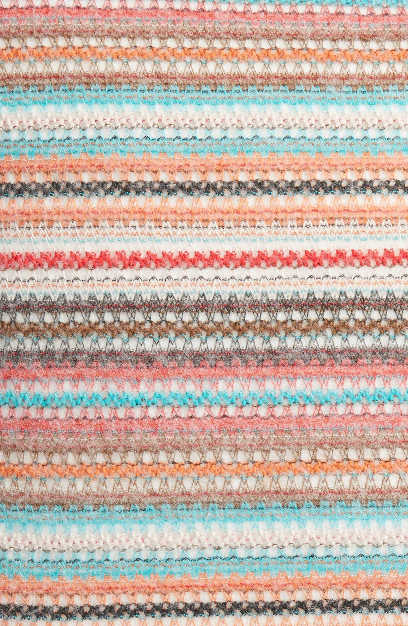 Aubrie Stripe Pillow,                             Alternate thumbnail 3, color,                             020