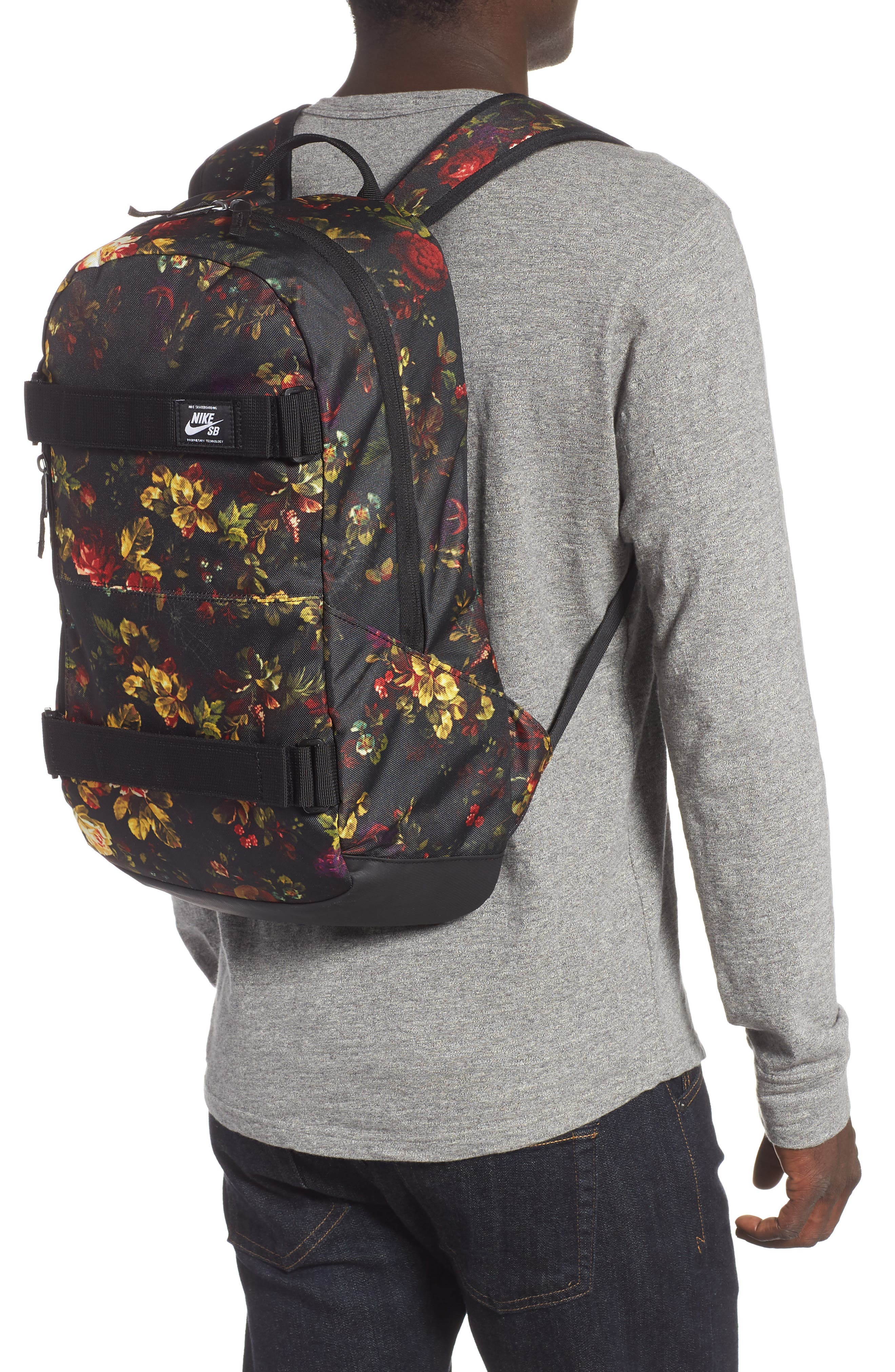 Courthouse Backpack,                             Alternate thumbnail 2, color,                             BLACK