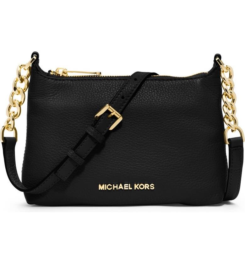 92f31357e943 MICHAEL MICHAEL KORS Crossbody Bag, Main, color, 001