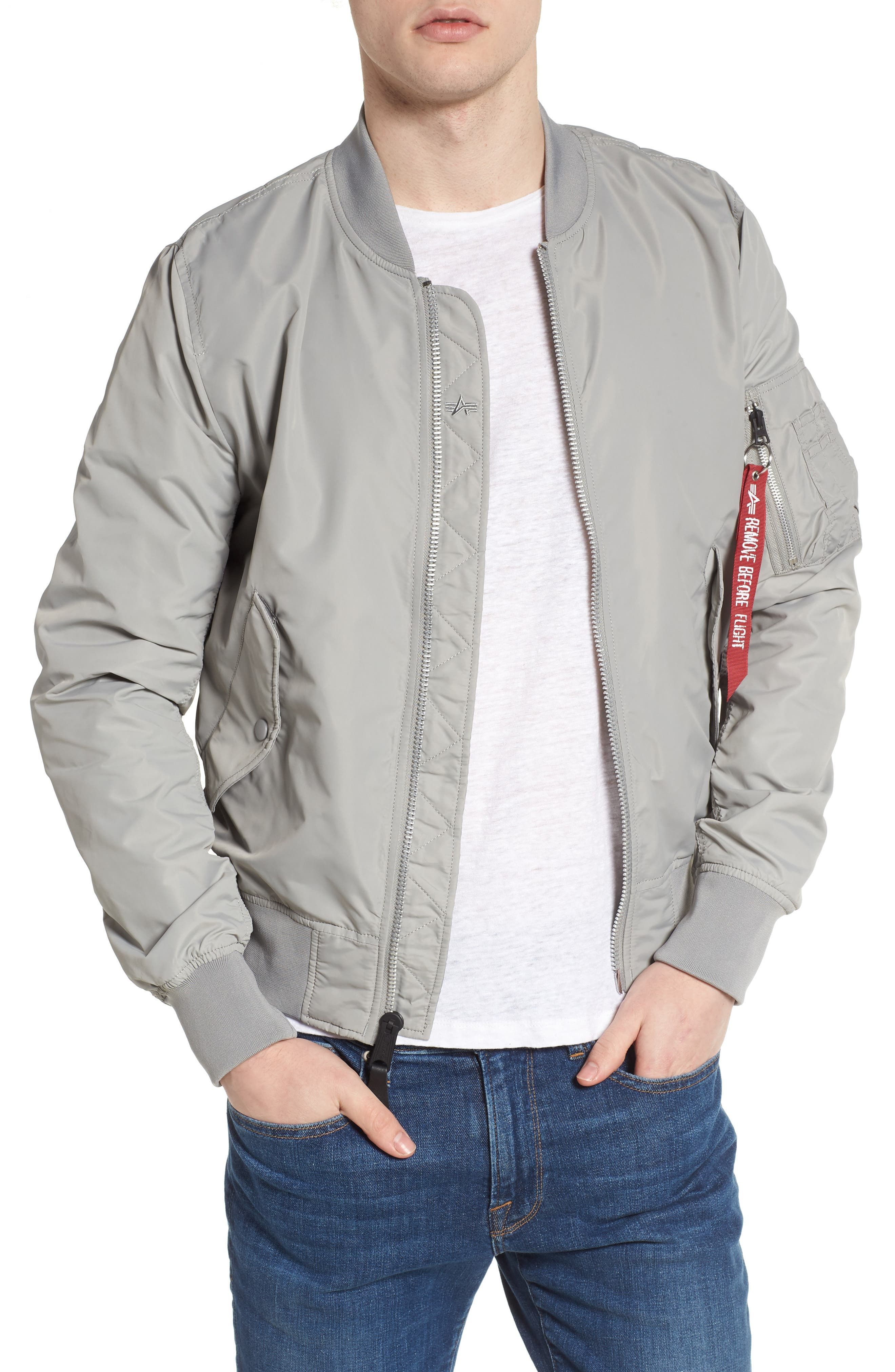 LB-2 Scout Reversible Flight Jacket,                         Main,                         color,