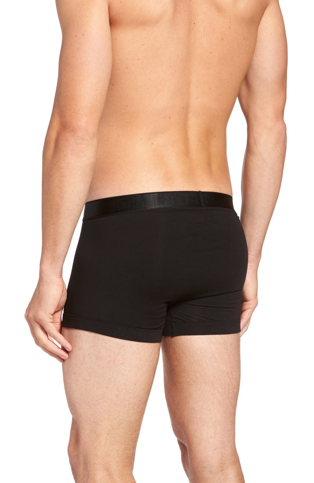 Micromodal Trunks,                             Alternate thumbnail 2, color,                             001