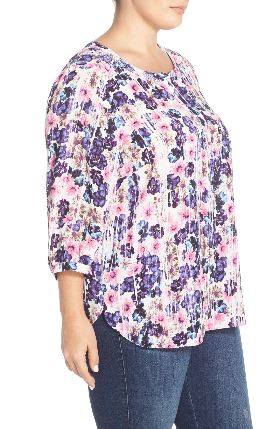 Henley Top,                             Alternate thumbnail 245, color,